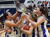 Geneva won against Wheaton Warrenville South in a Class 4A girls basketball sectional title game at Lake Park High School in Roselle Thursday night.