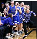 Geneva High School played Rockford Boylan in the Class 4A Streamwood girls basketball supersectional on Monday, Feb. 26 in Streamwood.