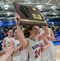 Carmel Catholic played Glenbard South in the Class 3A Burlington Central girls basketball supersectional at Elgin Community College on Monday, Feb. 26.