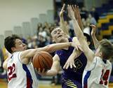 Wauconda faced Lakes in the Class 3A regional semifinal boys basketball game on Tuesday, Feb. 27 in Wauconda.