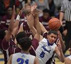 Rivals Elgin and Larkin faced off in a Class 4A St. Charles North regional semifinal boys basketball game on Tuesday, Feb. 27.
