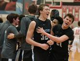 Willowbrook won 47-43 over Naperville North in a Class 4A boys basketball sectional semifinal on March 6, 2018.