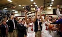 Benet Academy won 67-40 over Willowbrook in a Class 4A sectional final boys basketball game on March 9, 2018.