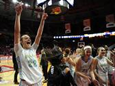 Maine West won 56-32 over Hononegah in the Class 4A state semifinal girls basketball game at the Redbird Arena in Normal, Illinois.