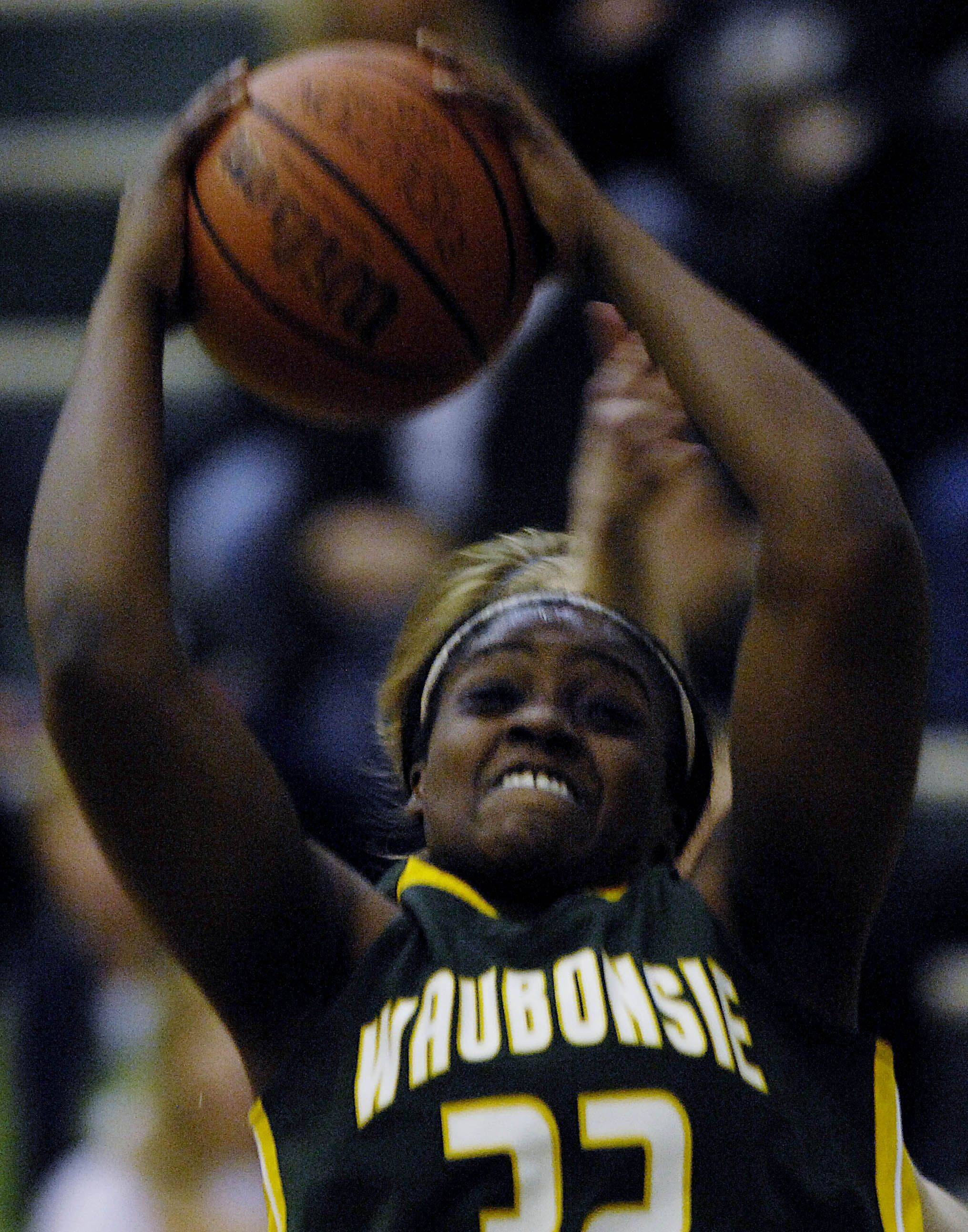 Girls basketball action from the Waubonsie Valley vs. Bartlett game Tuesday, November 30, 2010.