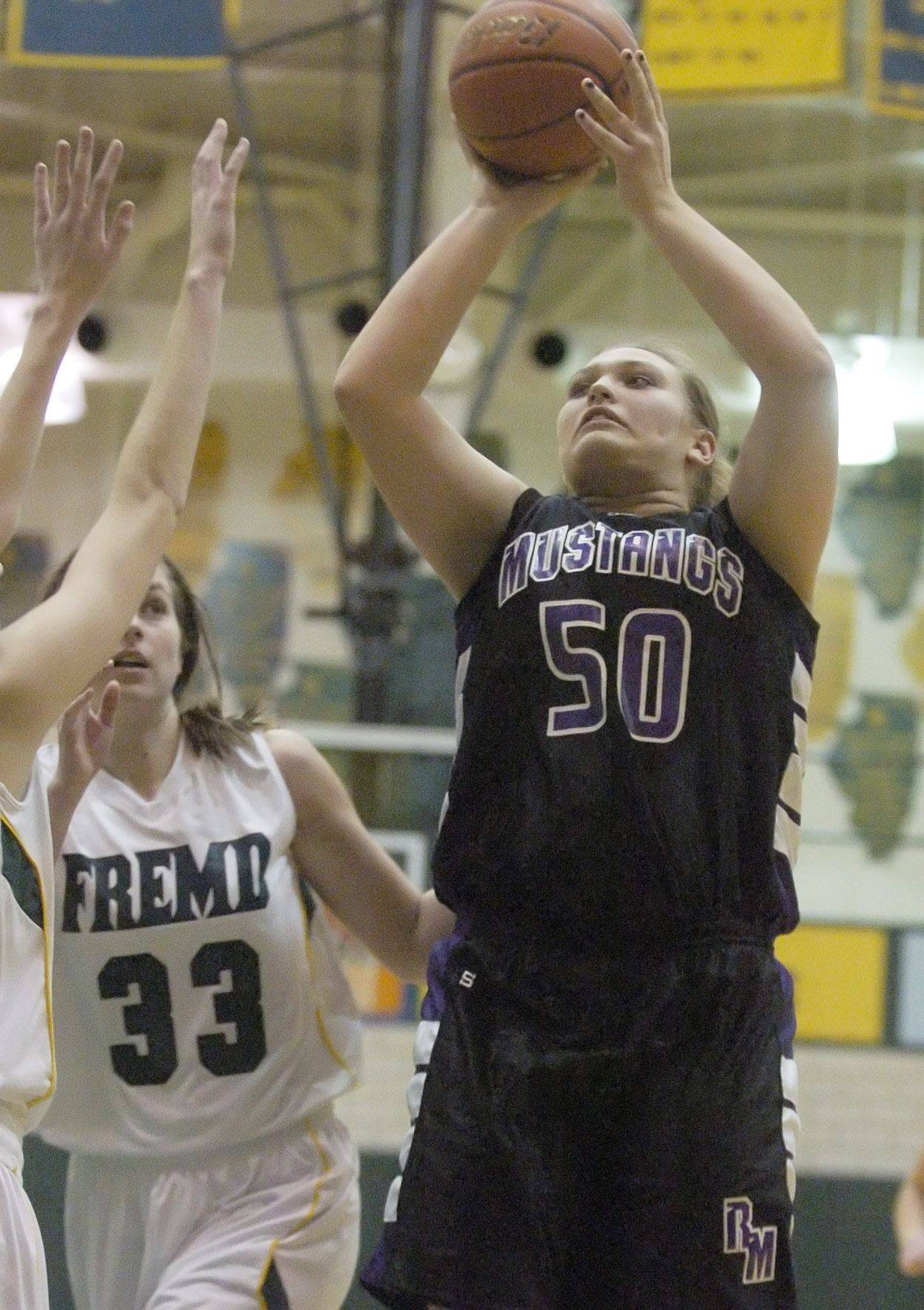 Images from the Rolling Meadows vs. Fremd girls basketball game in Palatine on Tuesday, November 30th.