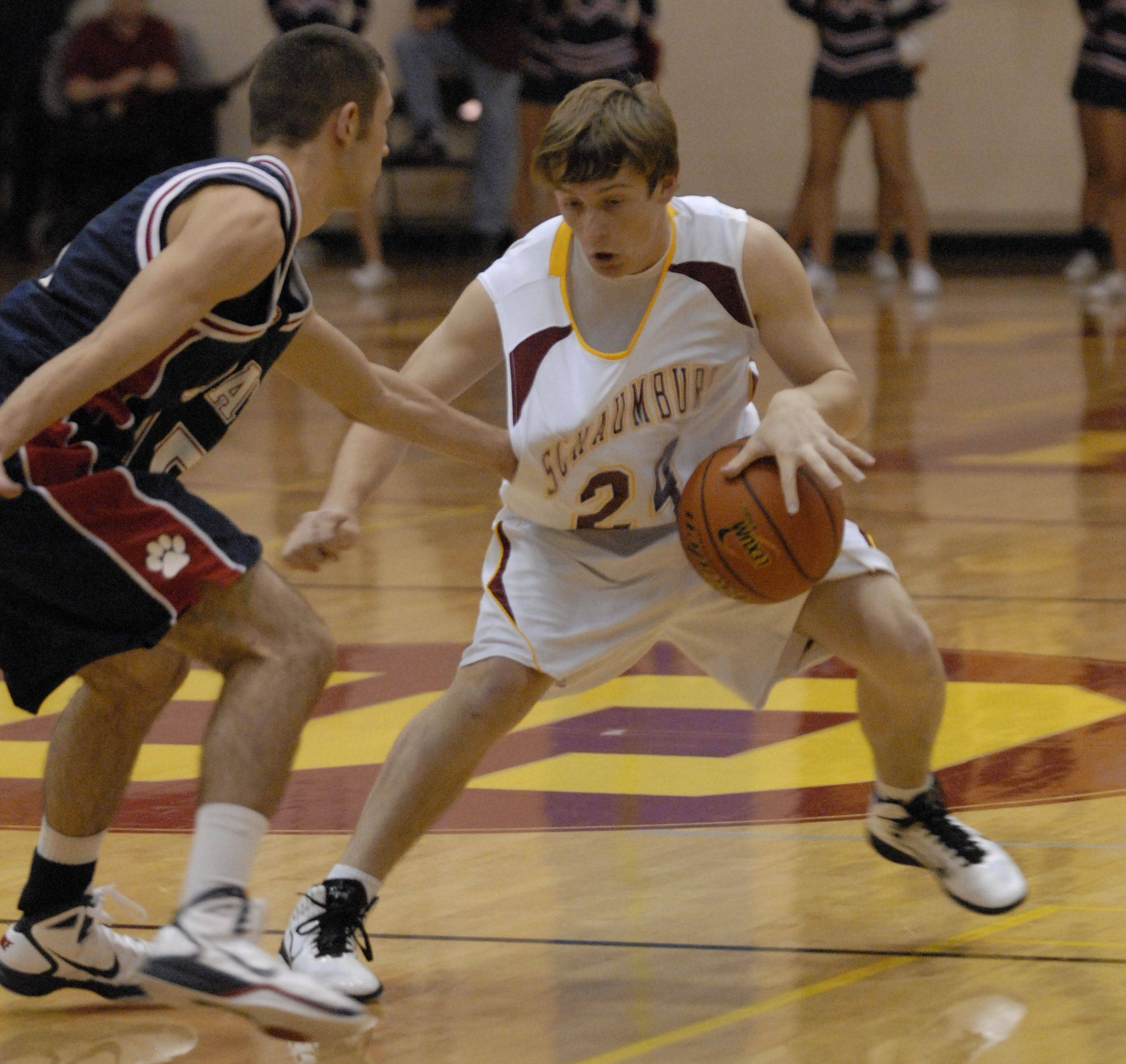 Images from the Schaumburg vs. Conant boys basketball game in Schaumburg on Friday, December 3rd.