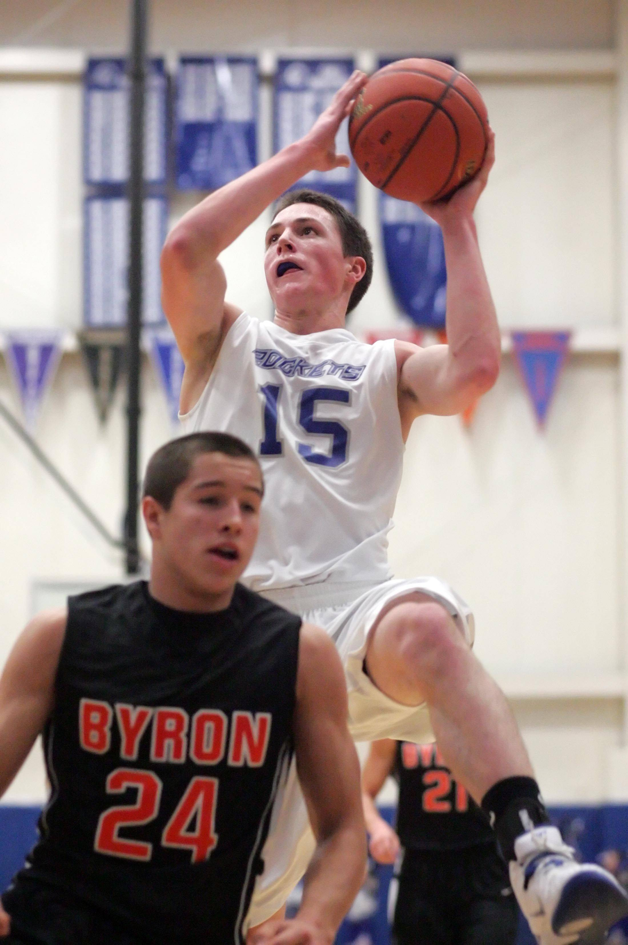 Images from the Byron vs. Burlington Central boys basketball game Friday, December 3, 2010.
