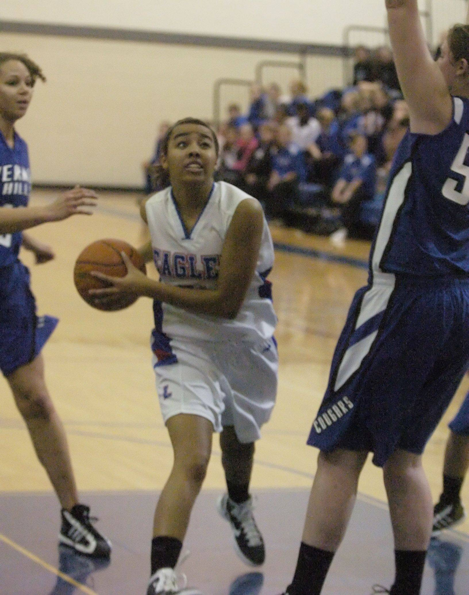 Images from the Vernon Hills at Lakes girls basketball game Saturday, December 4.
