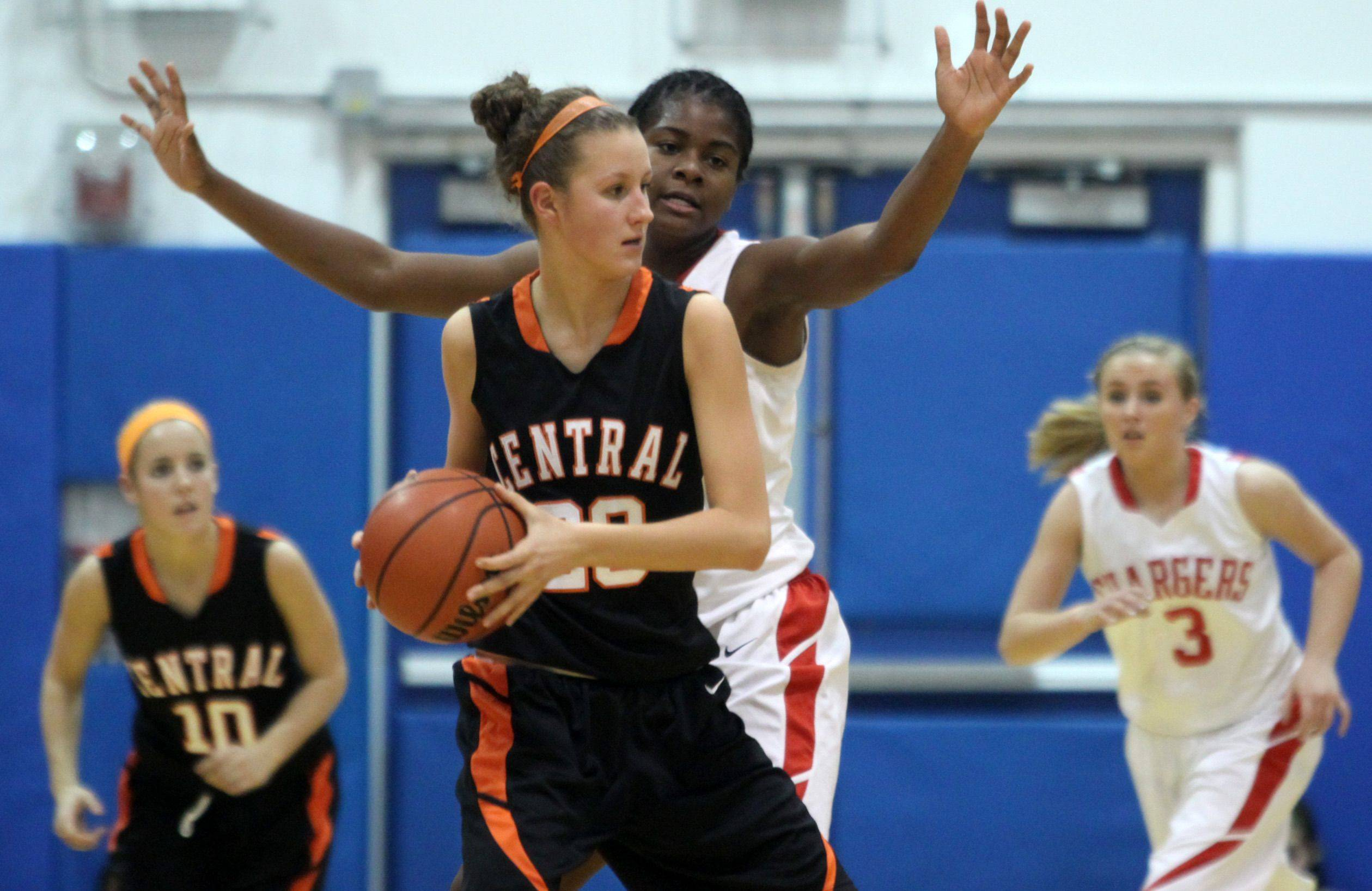 Images from Dundee-Crown against Crystal Lake Central girls basketball at Carpentersville on Monday, Dec. 6, 2010.