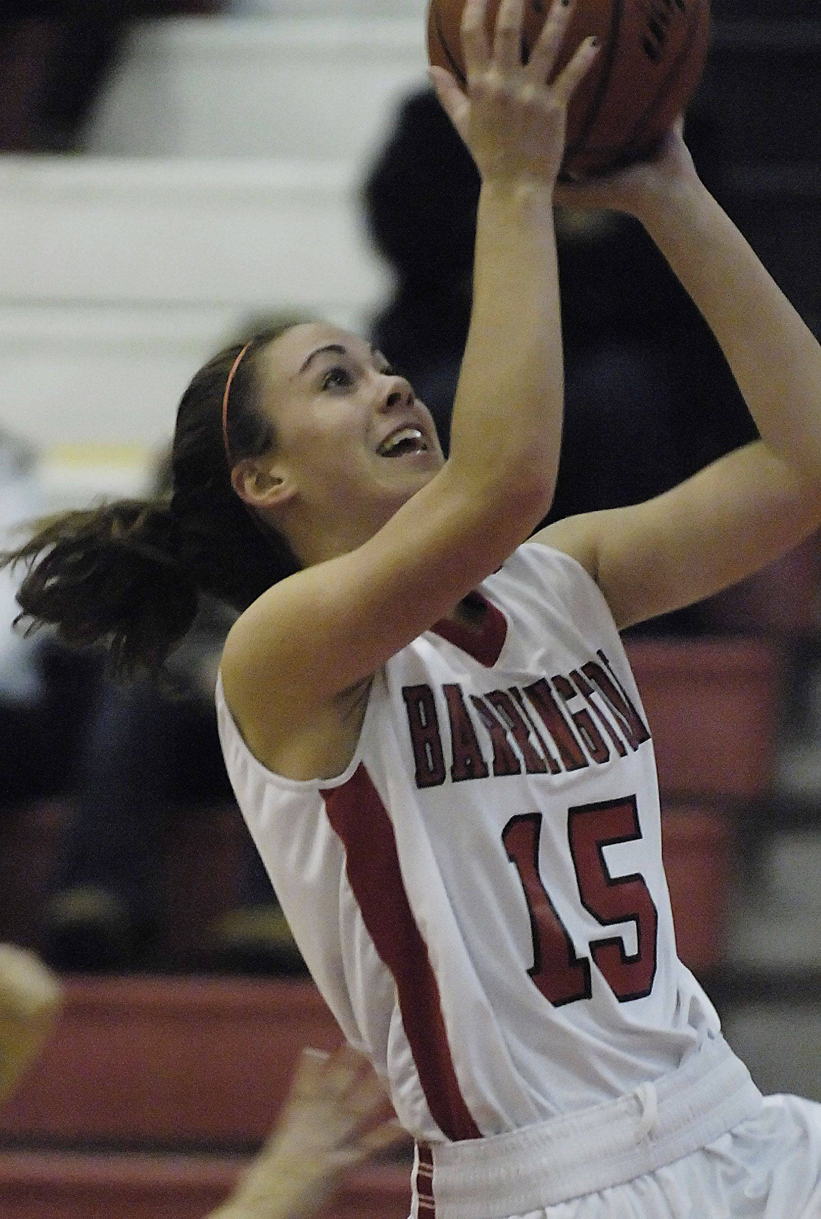 Images from the Huntley vs. Barrington girls basketball game Tuesday, December 7, 2010.