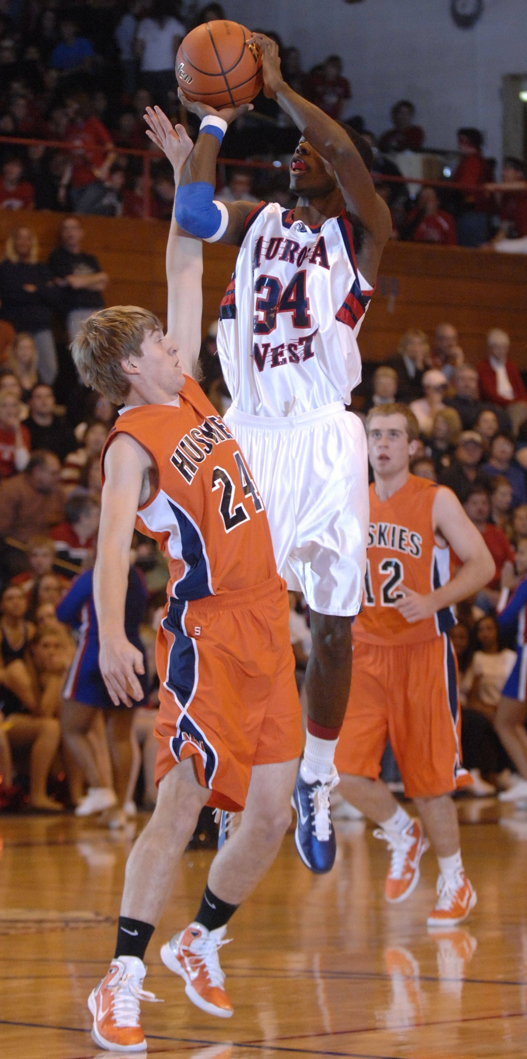 Images from the Naperville North vs. West Aurora boys basketball game Friday, December 10, 2010.
