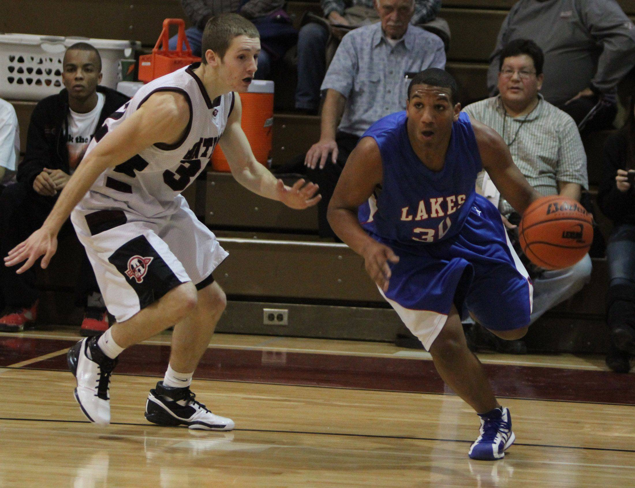 Images from the Lakes at Antioch boys basketball game Friday, December 10.