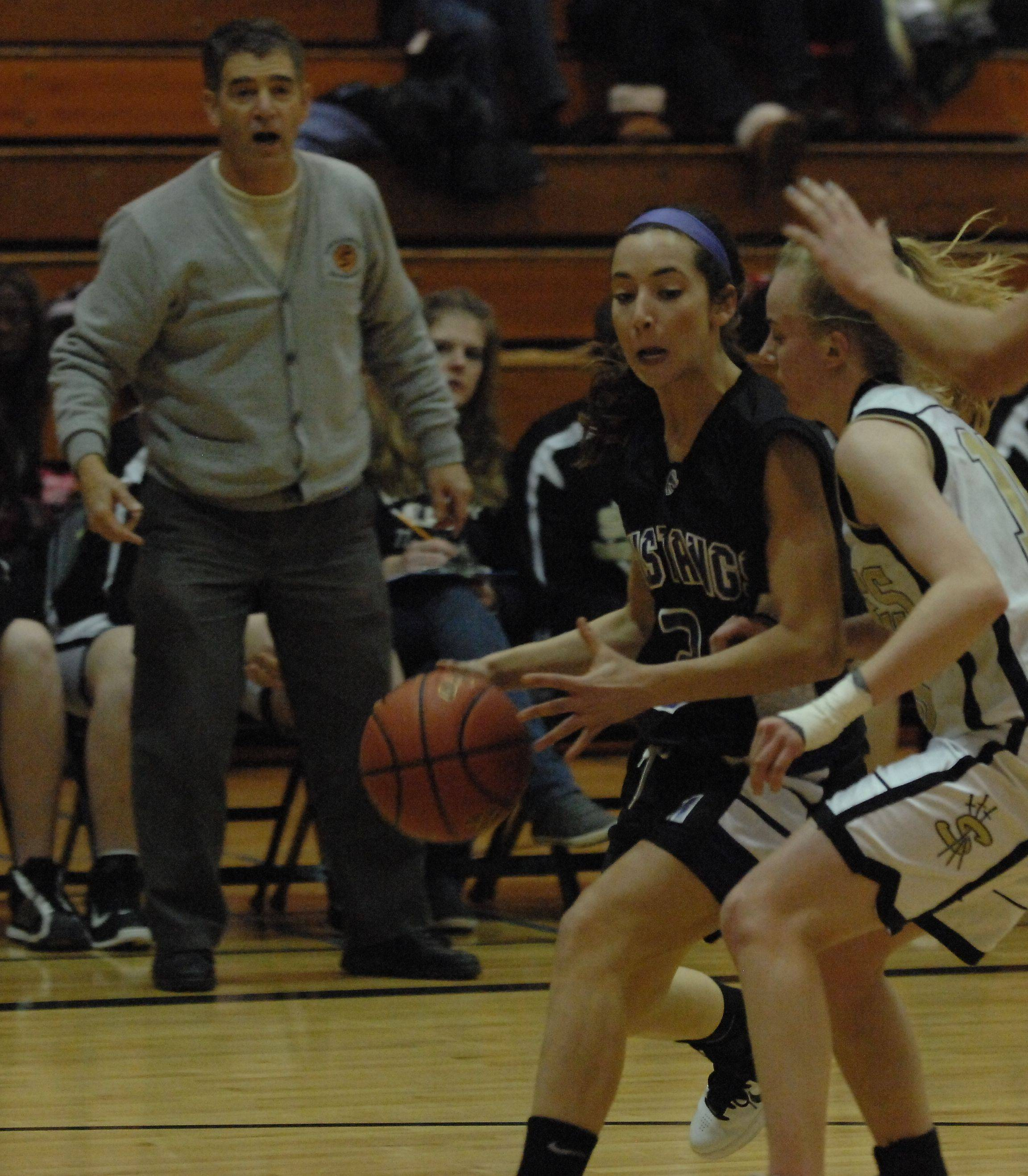 Images from the Streamwood vs. Rolling Meadows girls basketball game in Streamwood on Monday, December 13th