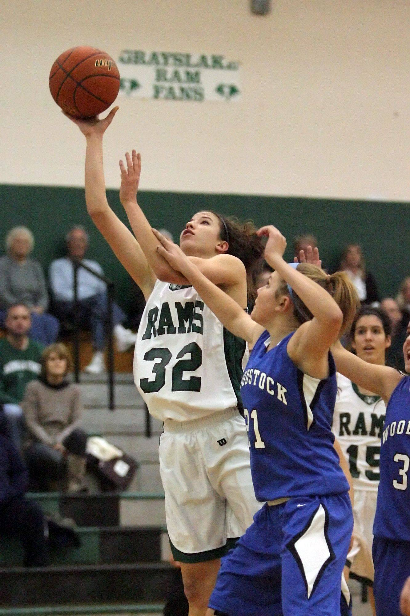 Images from the Woodstock at Grayslake Central girls basketball game Tuesday, December 14.