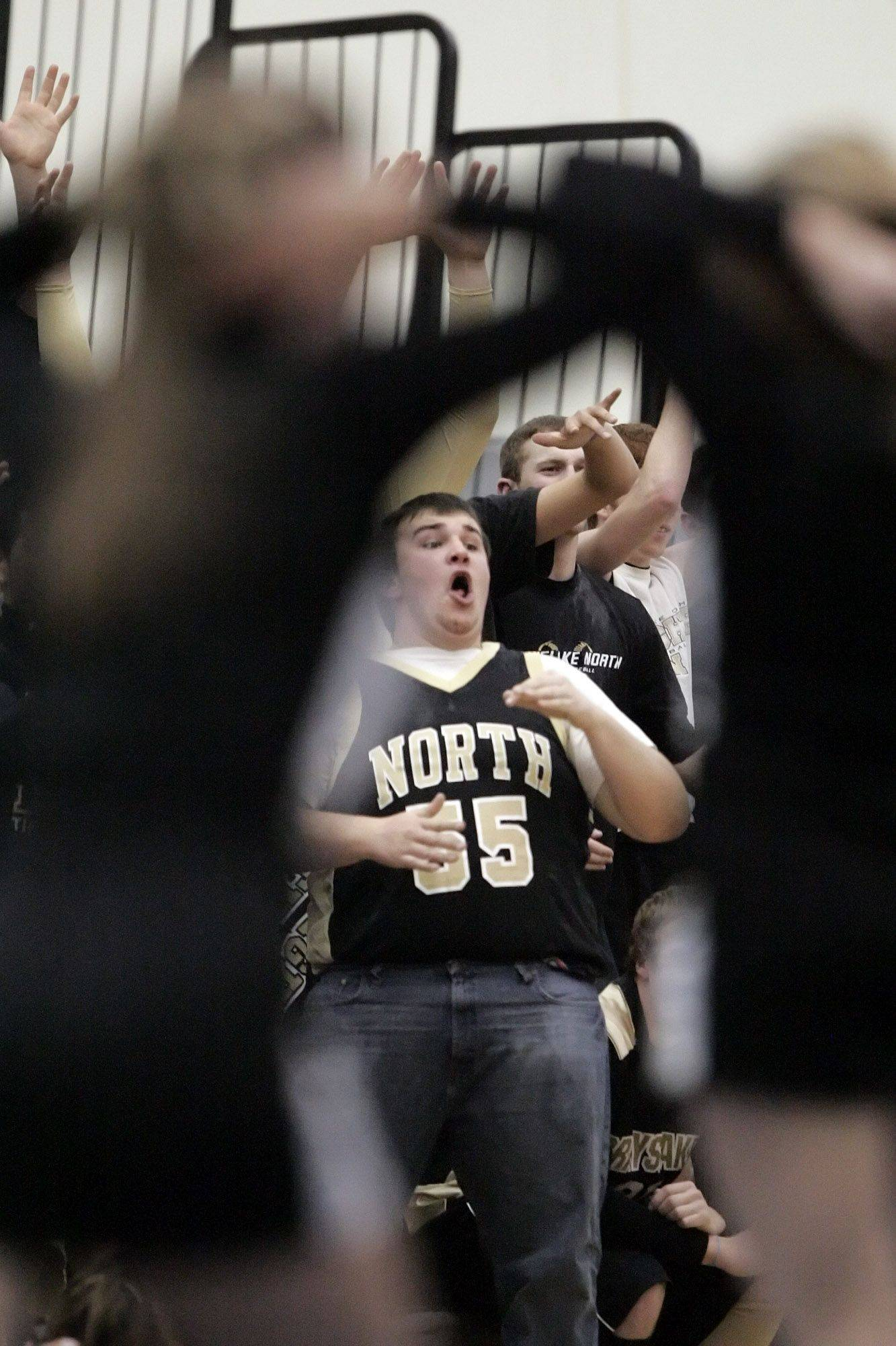 Images from the McHenry at Grayslake North boys basketball game Wednesday, December 15.