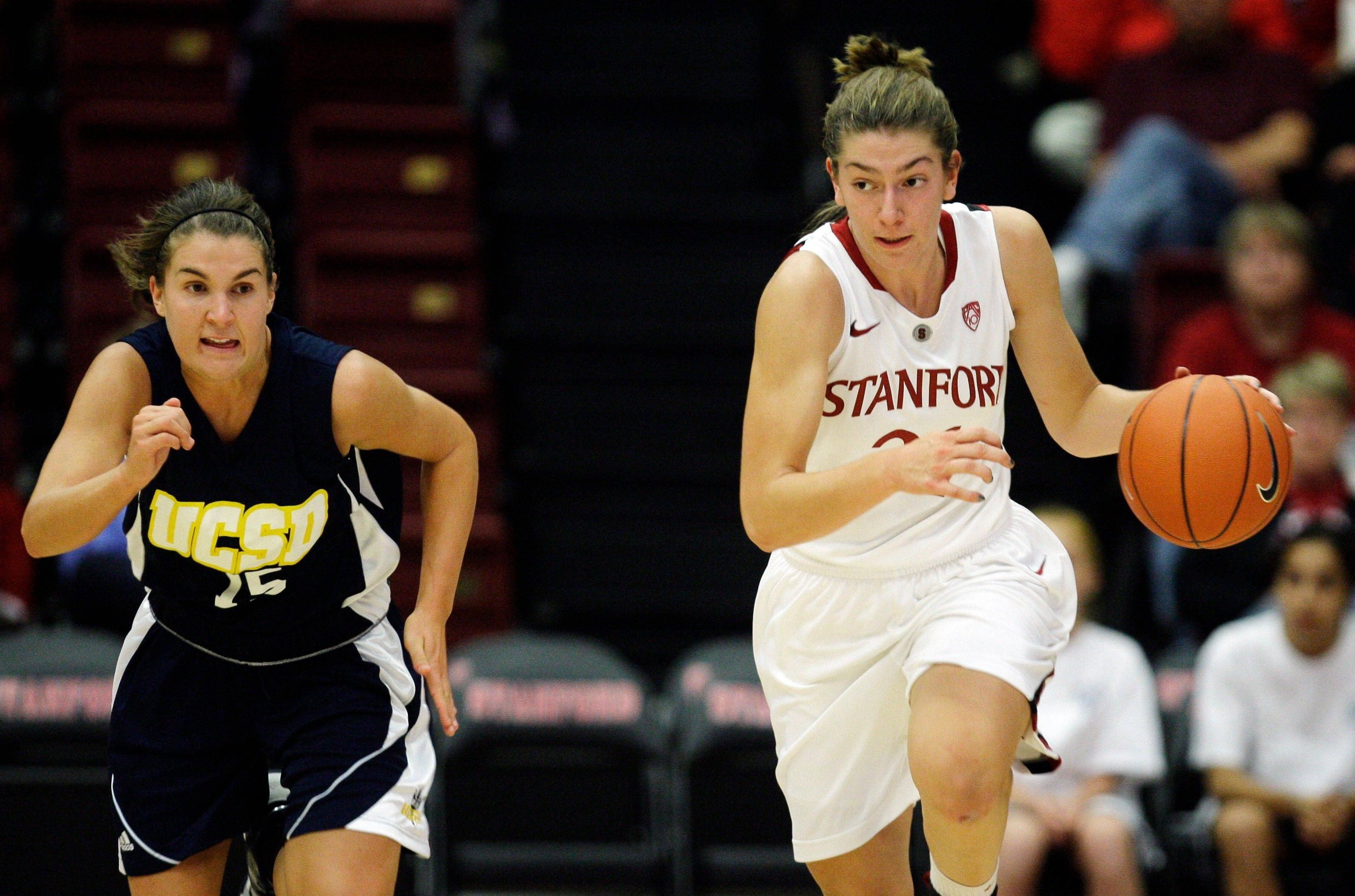 Stanford's coach says the No. 3-ranked team needs the speed of Toni Kokenis, a former Daily Herald All-Area captain at Hinsdale Central.