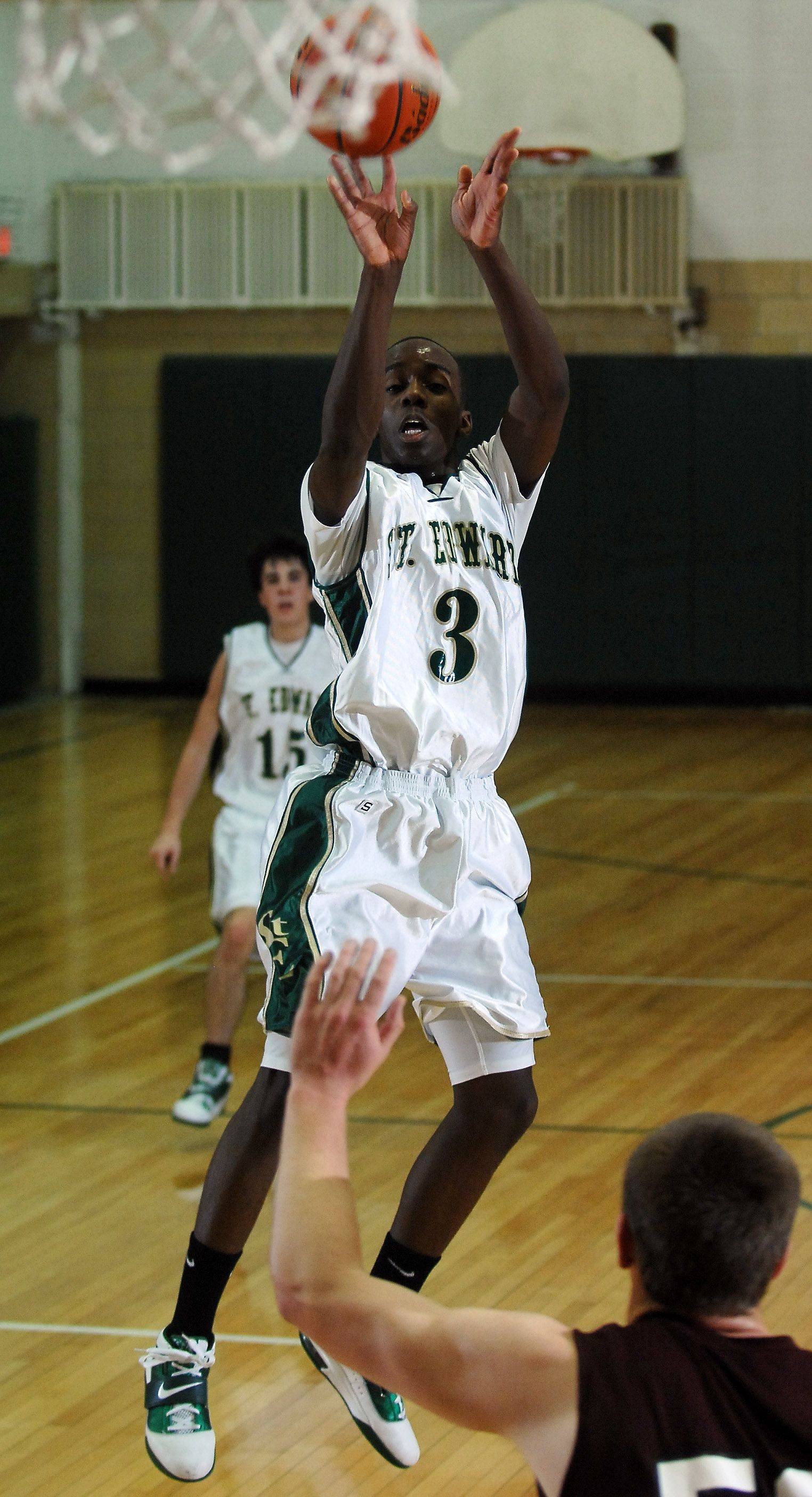 Images from the Wheaton Academy vs. St. Edward boys basketball game Friday, December 17, 2010.