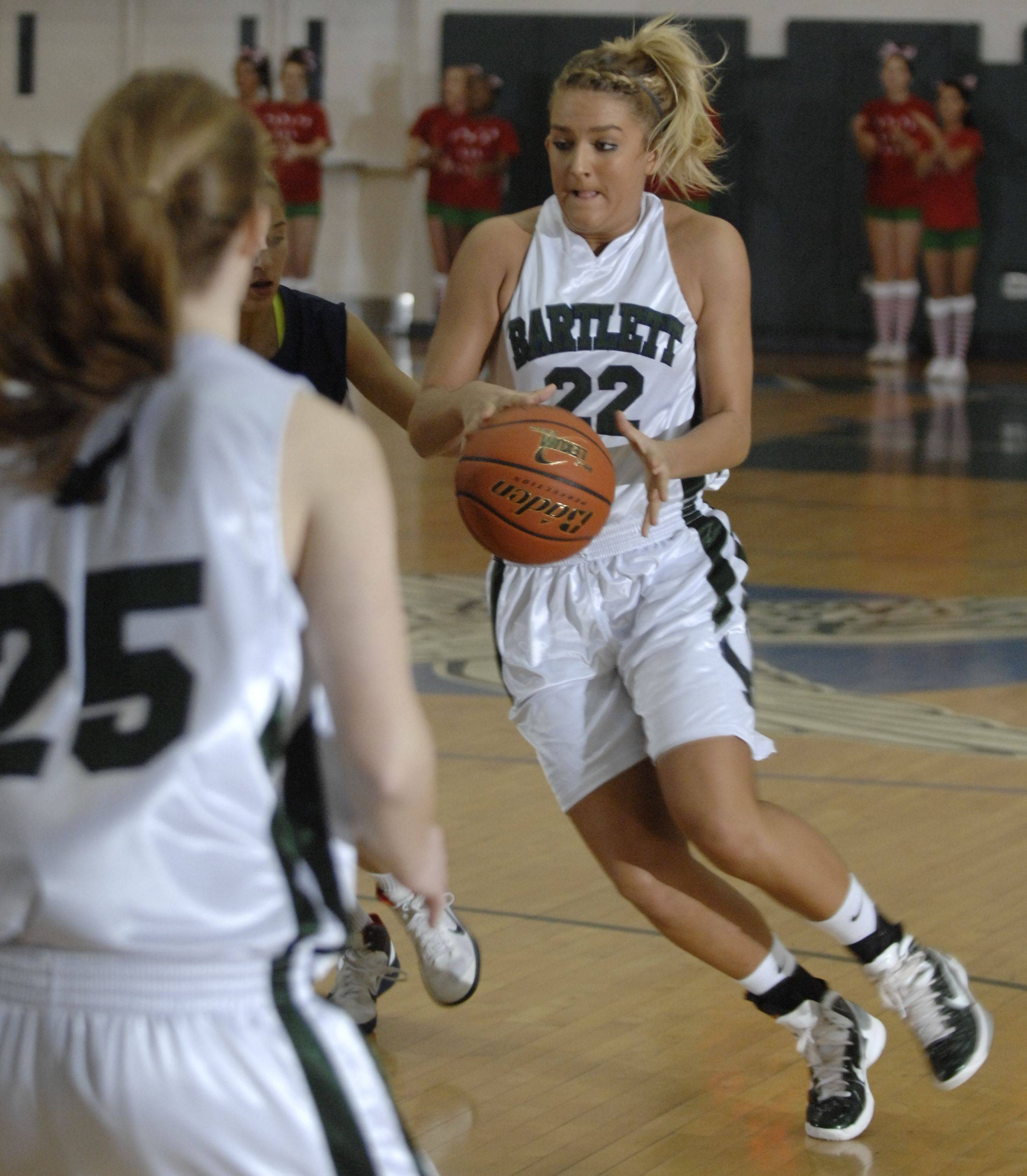 Images from the West Chicago vs. Bartlett girls basketball game Saturday, December 18, 2010.