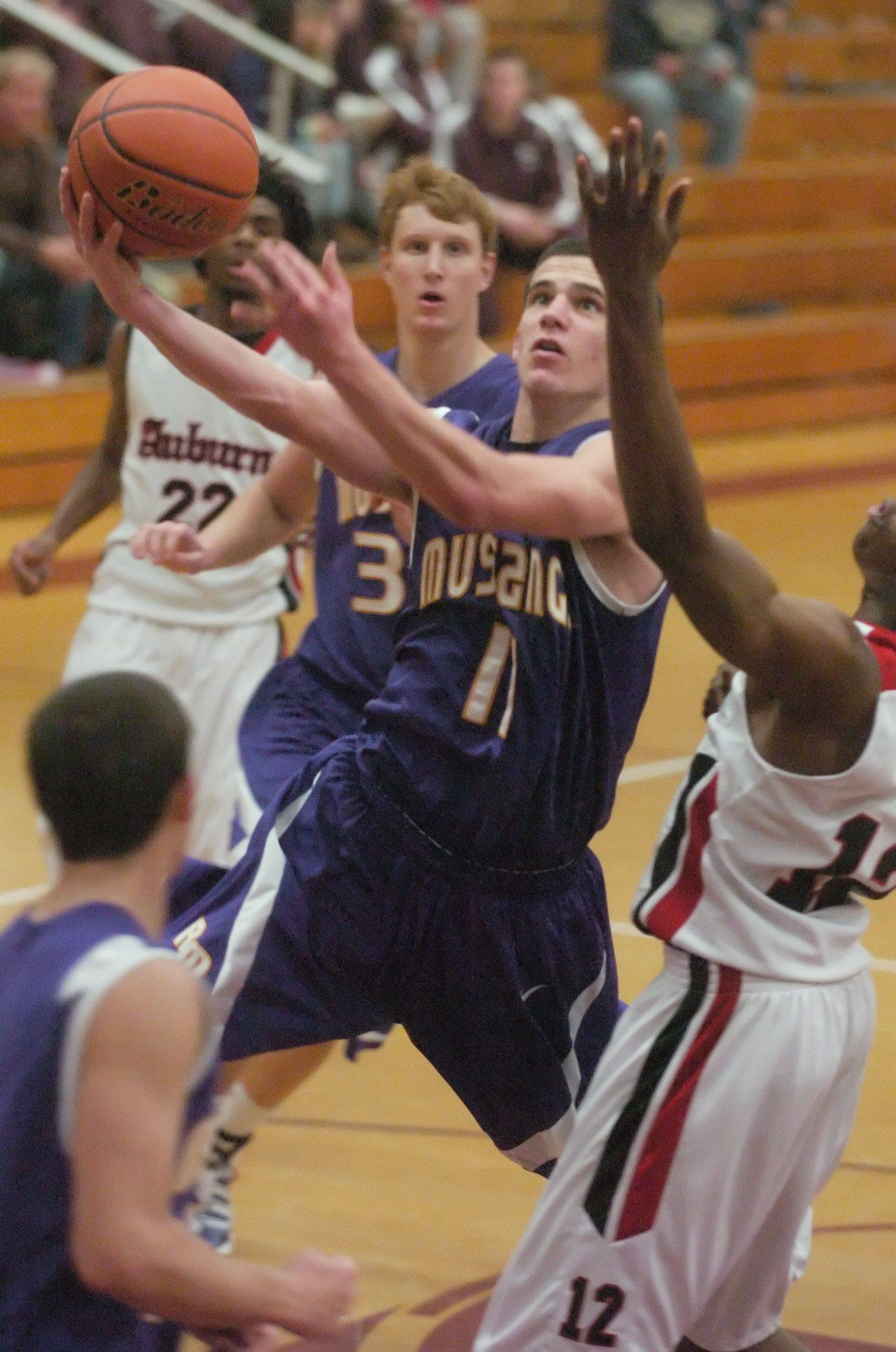 Auburn's spurt singes Rolling Meadows
