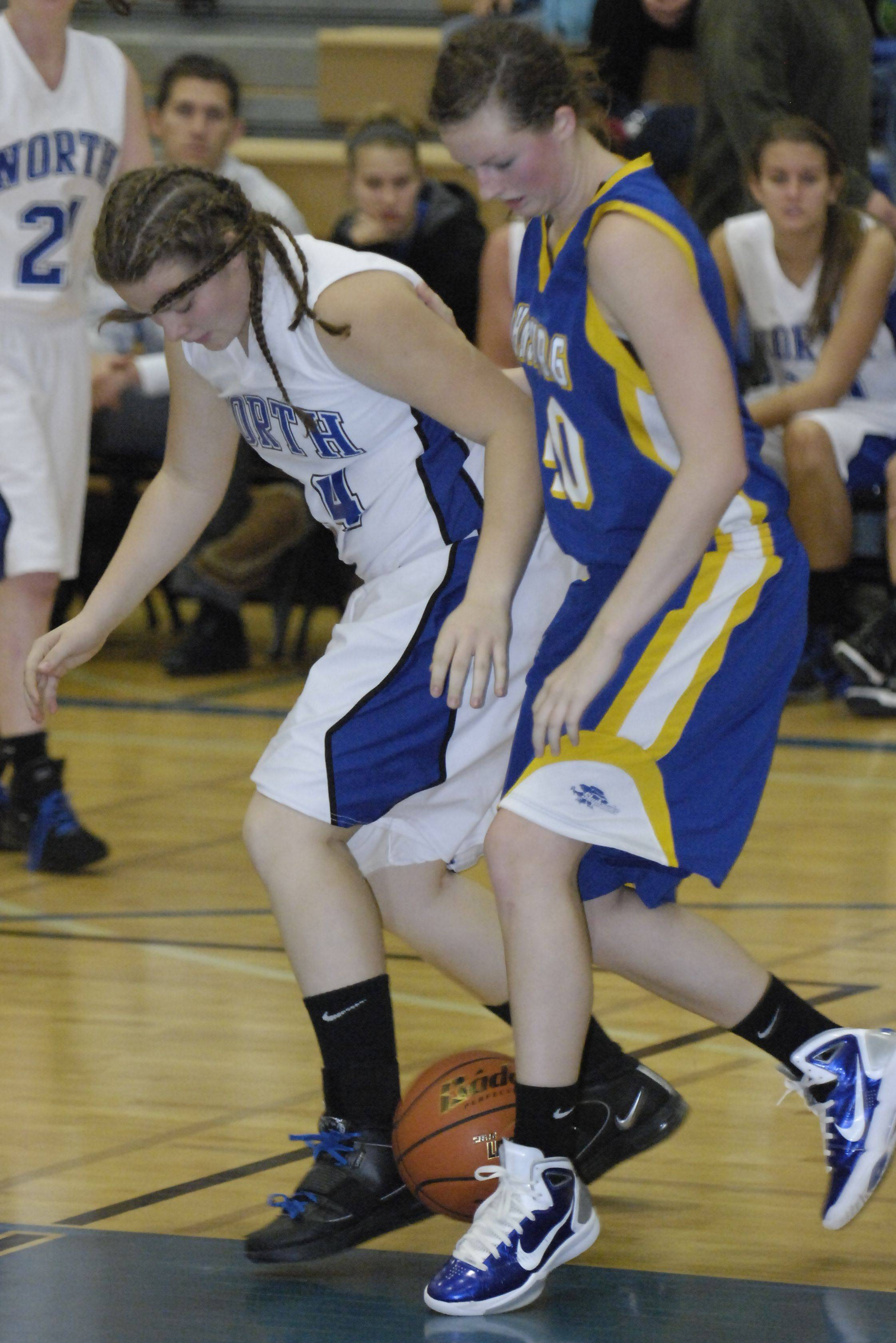 Images from the Johnsburg vs. St. Charles North girls basketball game Tuesday, December 21, 2010.