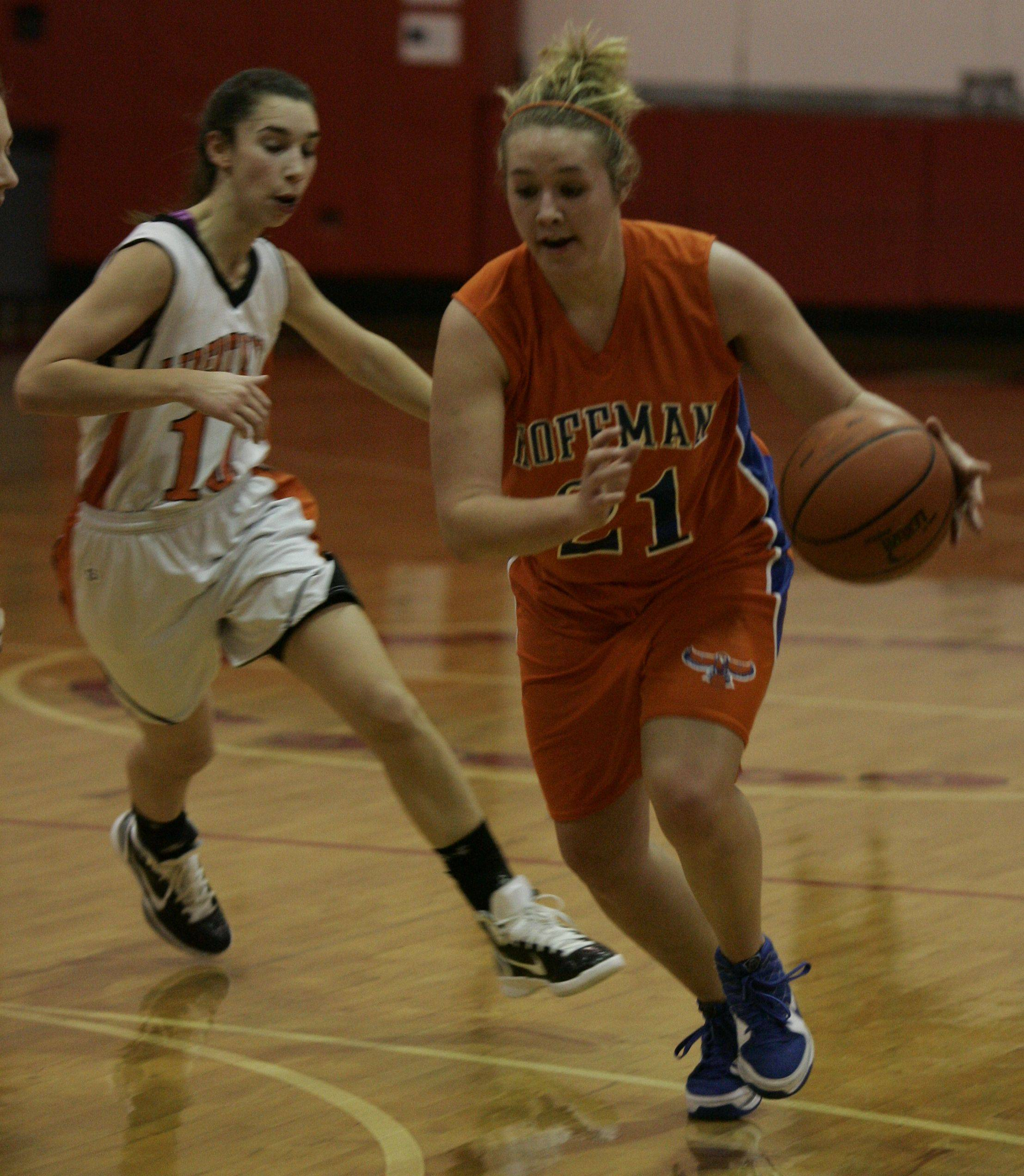 Images from the Libertyville vs. Hoffman Estates girls basketball game Wednesday, December 22.