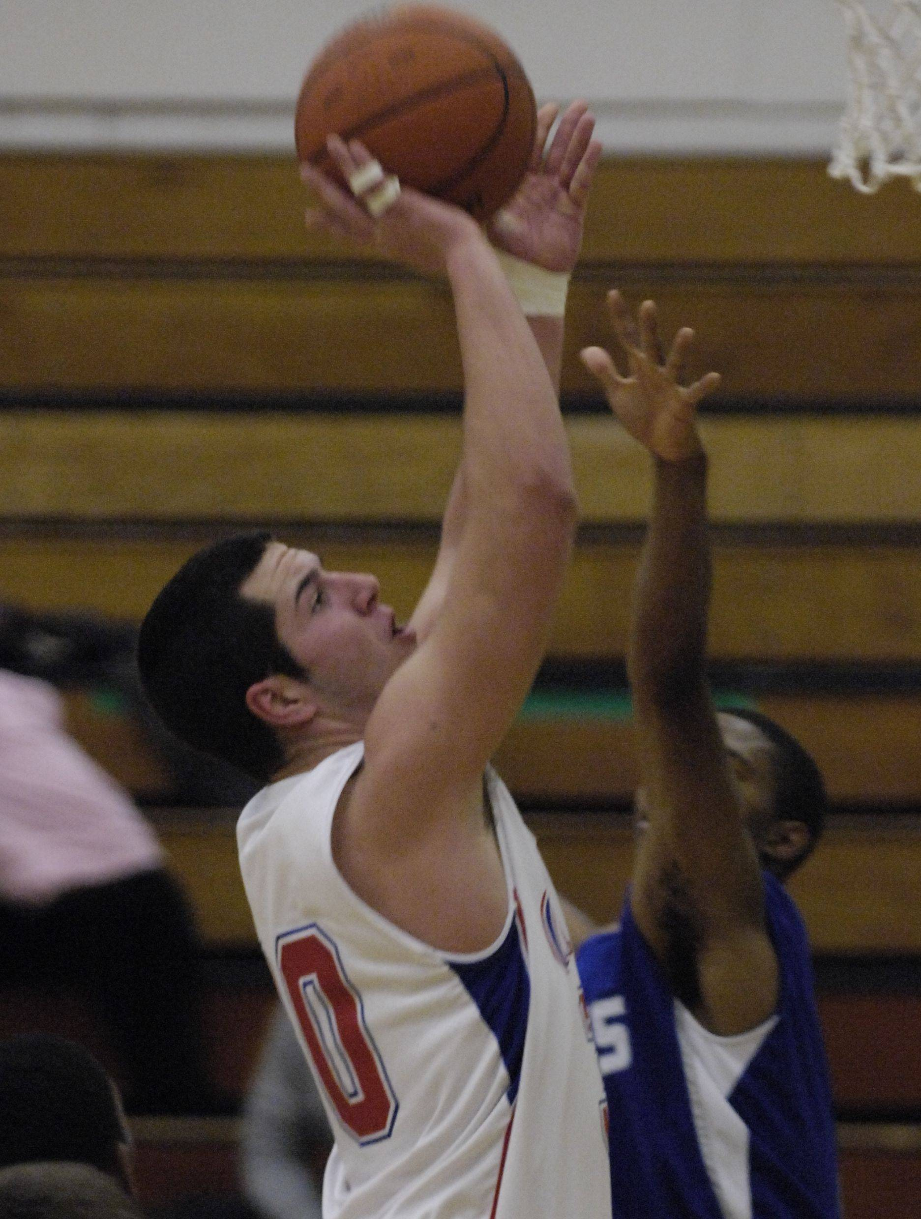 Images from the Marmion Academy vs. Brooks boys basketball game Wednesday, December 22, 2010.
