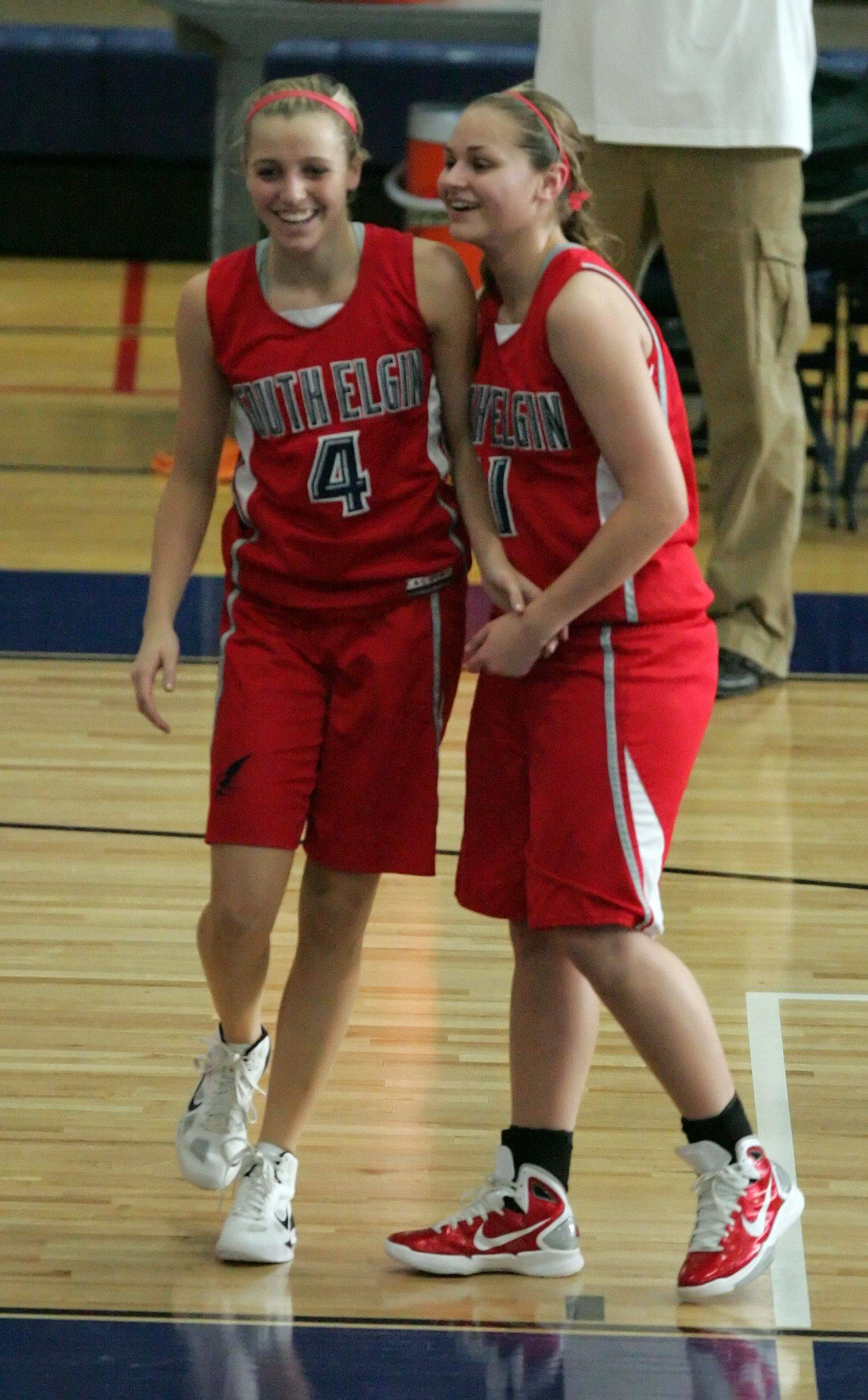 Images of South Elgin v Plainfield Central, girls basketball