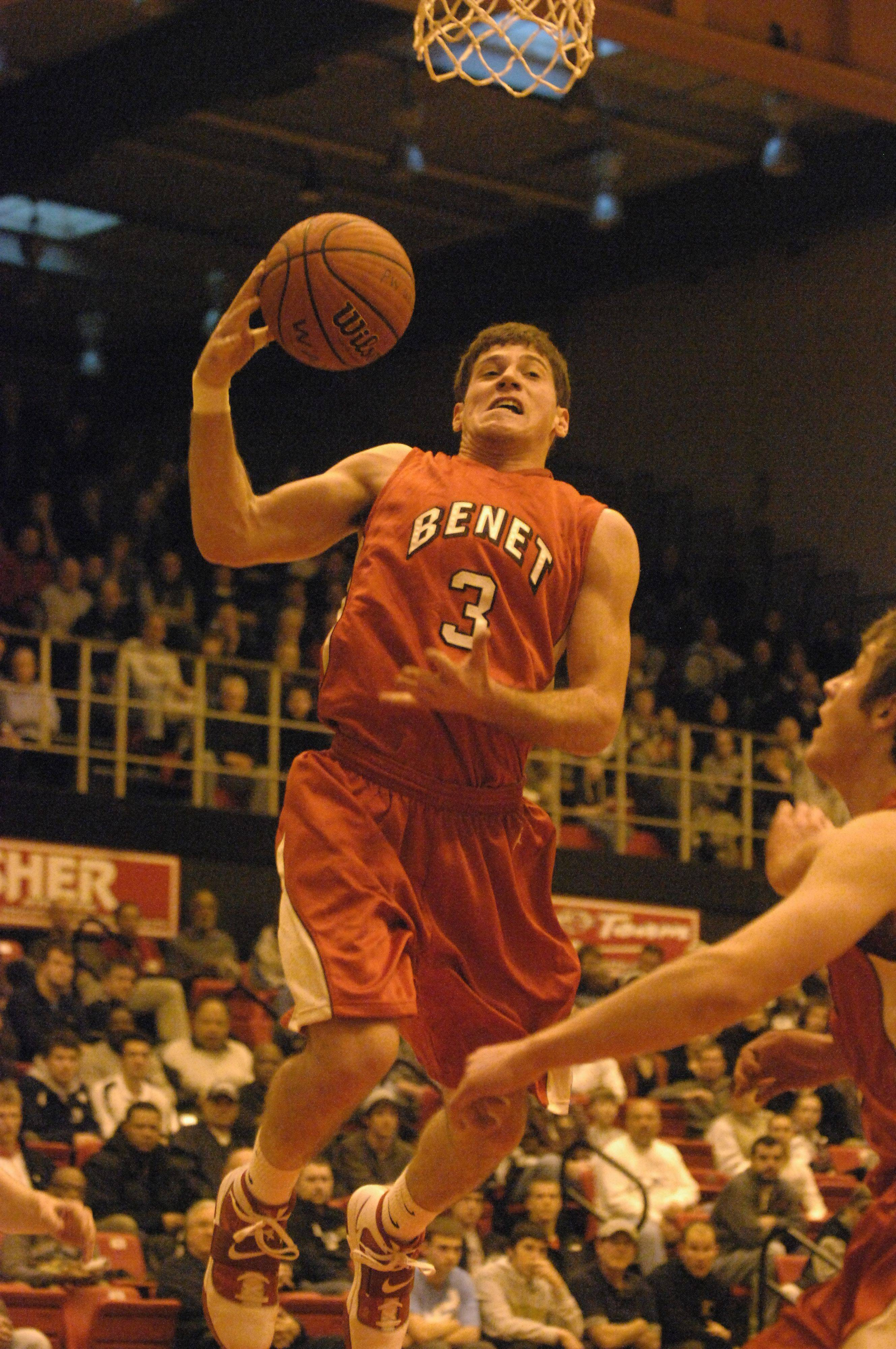 Images of Benet vs. New Trier boys basketball
