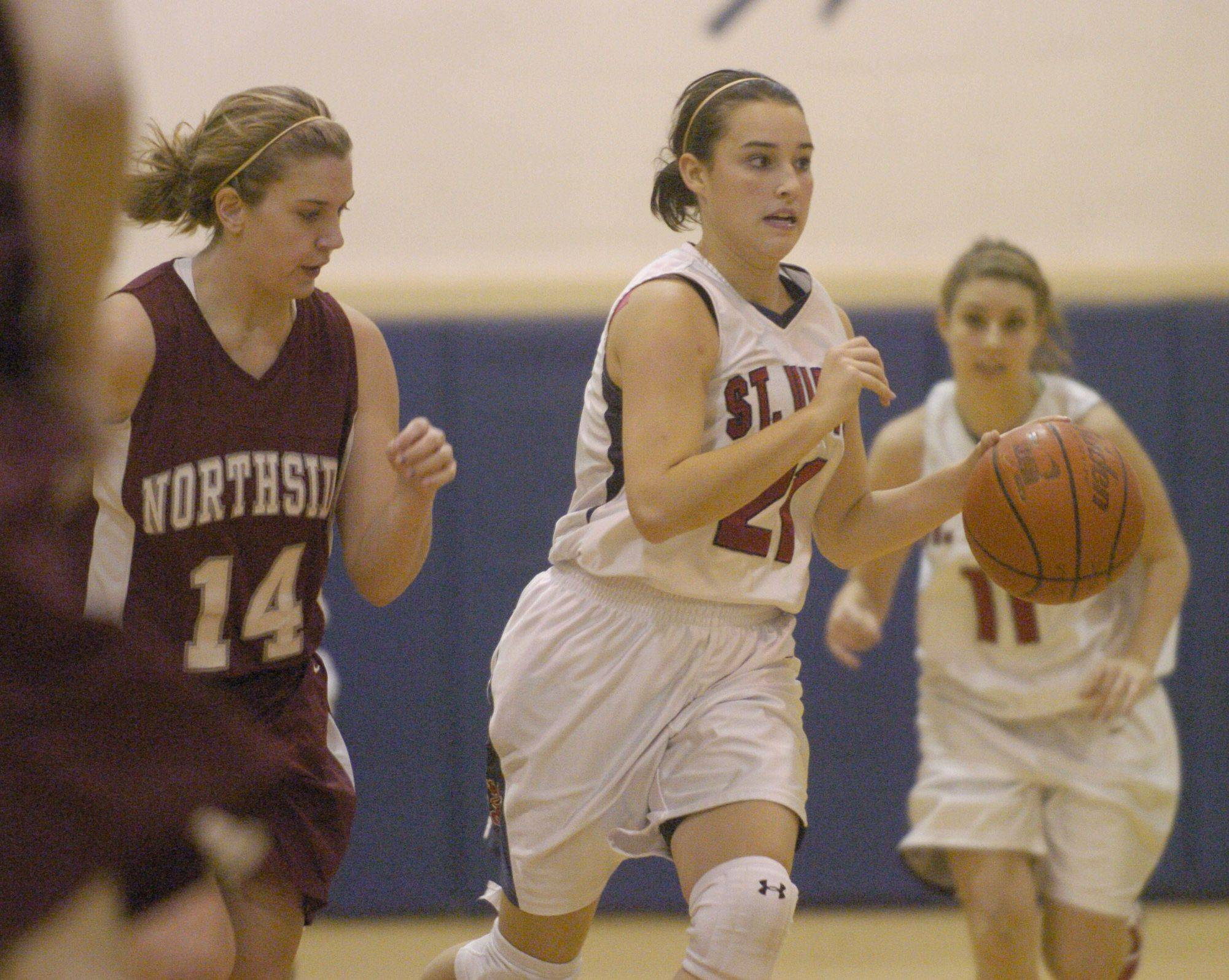 Images from the St. Viator vs. Northside Prep girls basketball game Tuesday, December 28, 2010.