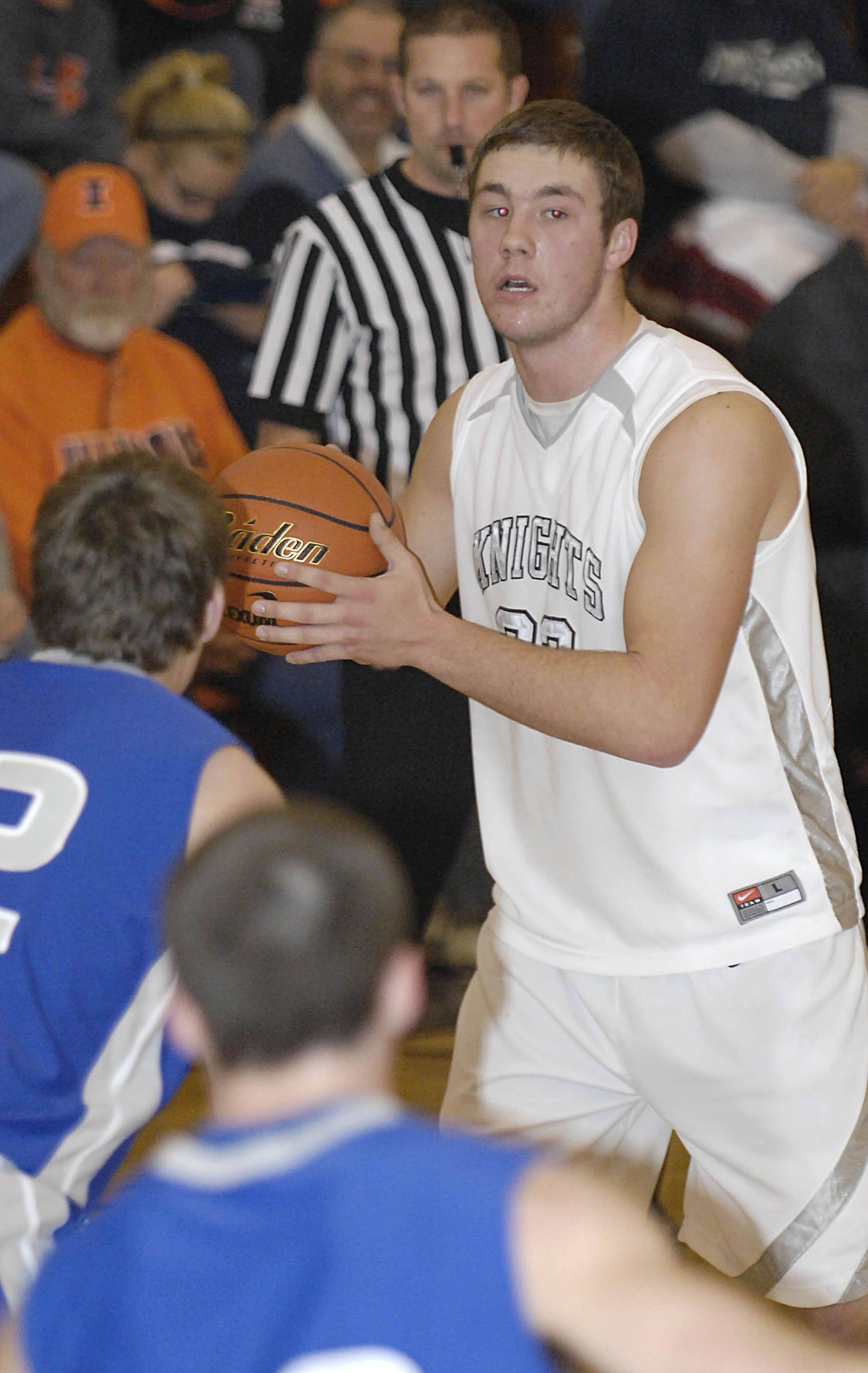 Images from the Kaneland vs. Princeton boys basketball game Tuesday, December 28, 2010.