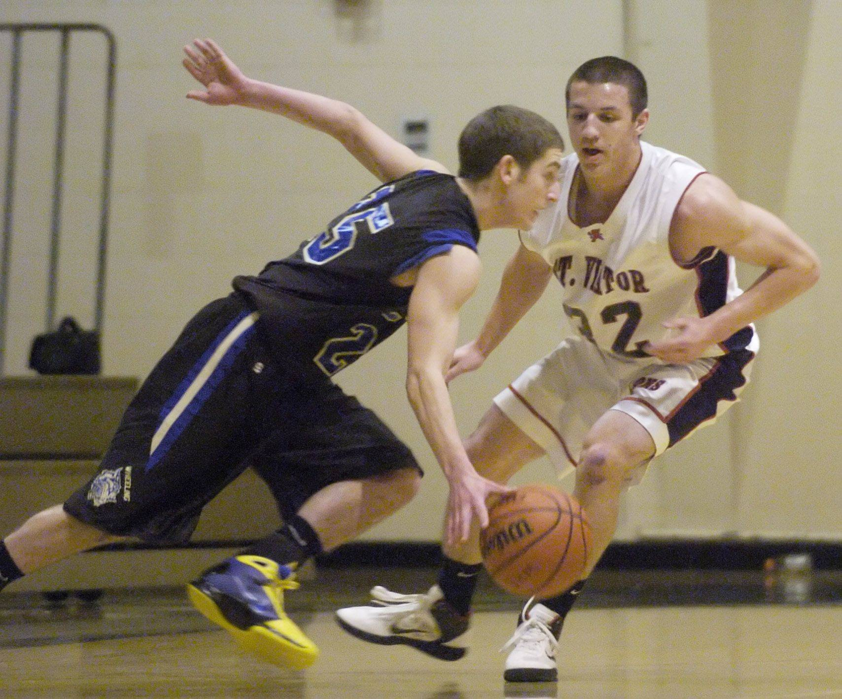 Images from the St. Viator vs. Wheeling boys basketball game Wednesday, December 29, 2010.