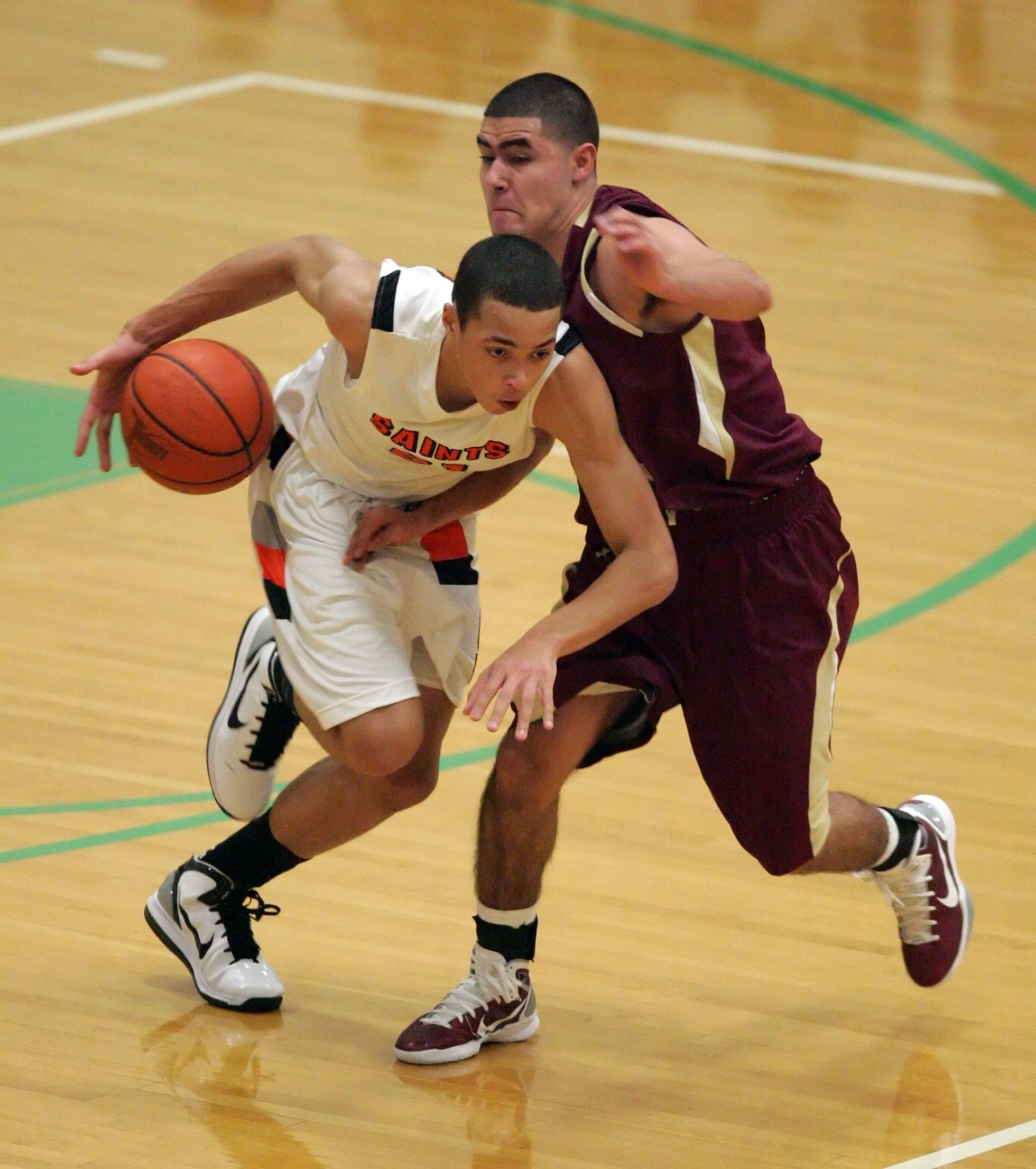 Images from the St. Charles East vs. St. Ignatius boys basketball game at York Wednesday, December 29, 2010 in Elmhurst.