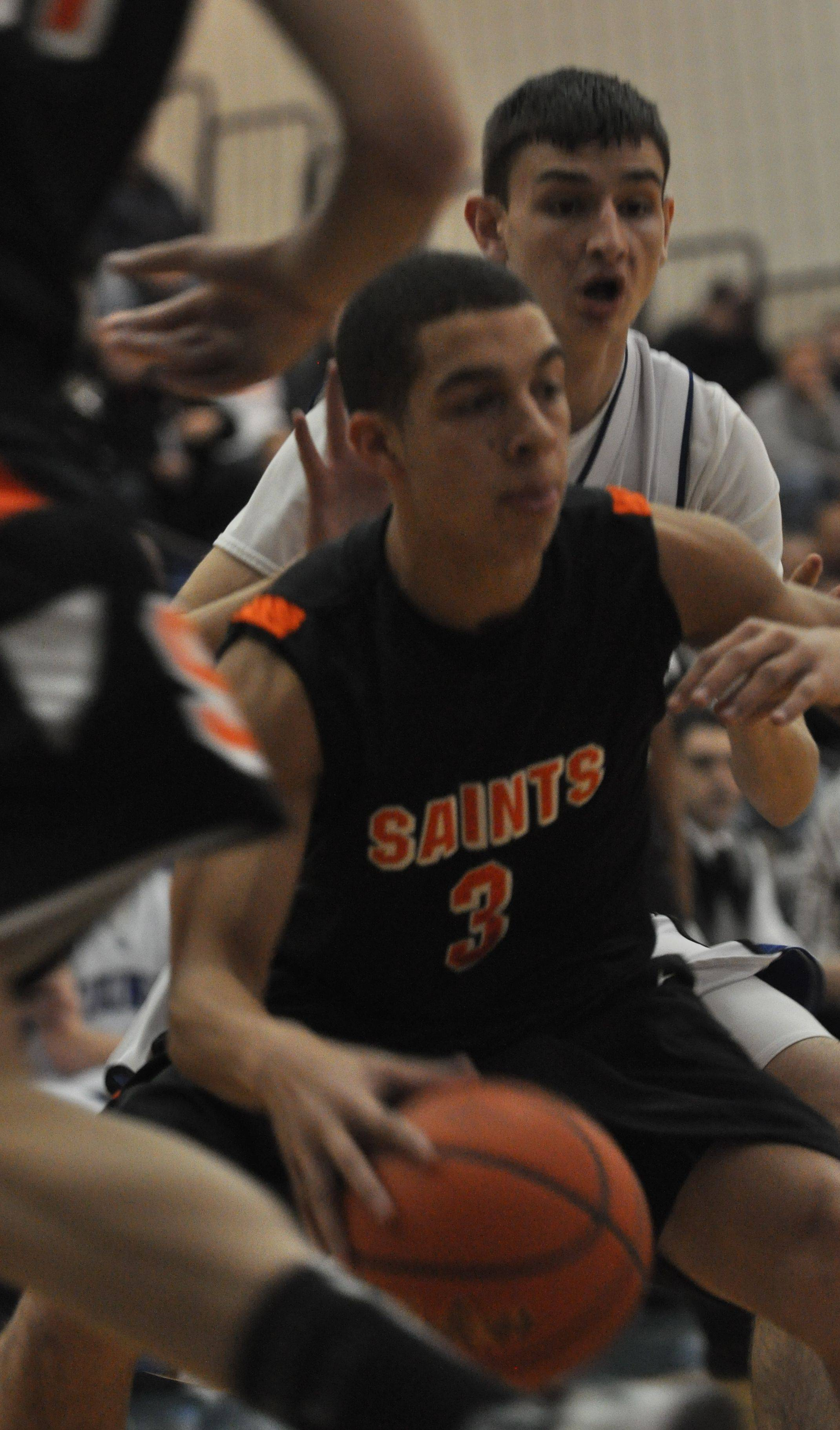 Images from the St. Charles East vs. Geneva boys basketball game Friday, January 7, 2011.