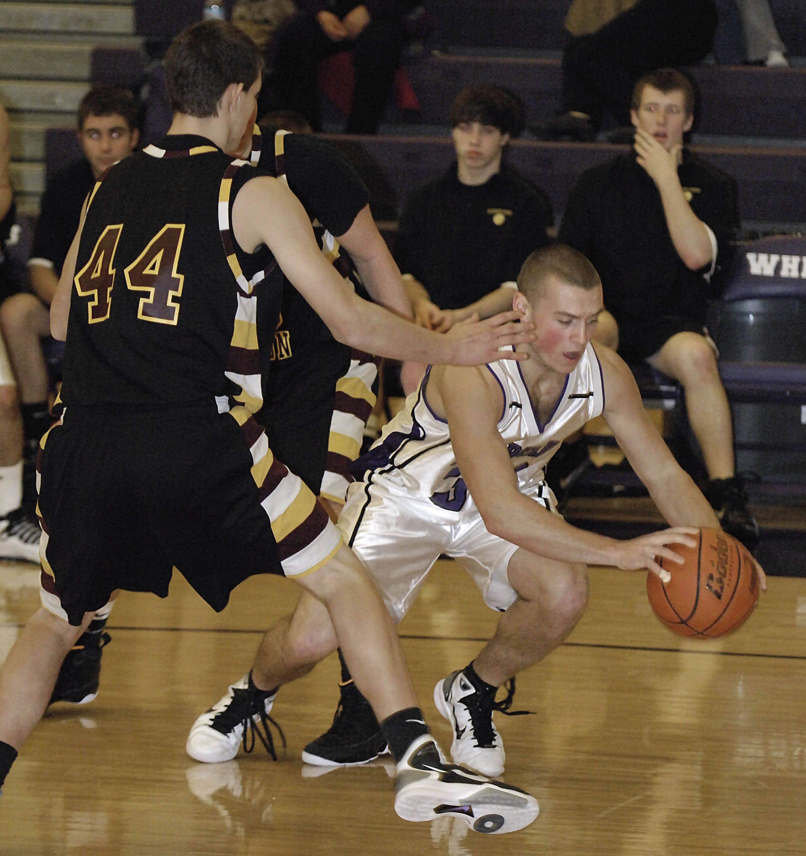 Images from the Richmond vs. Hampshire boys basketball game Saturday, January 8, 2011.