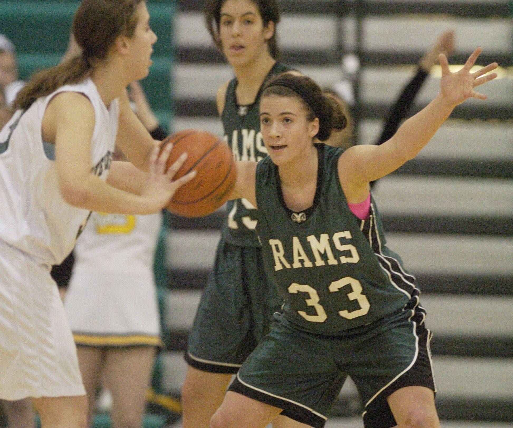 Images from the Grayslake Central at Stevenson girls basketball game Saturday, January 8.