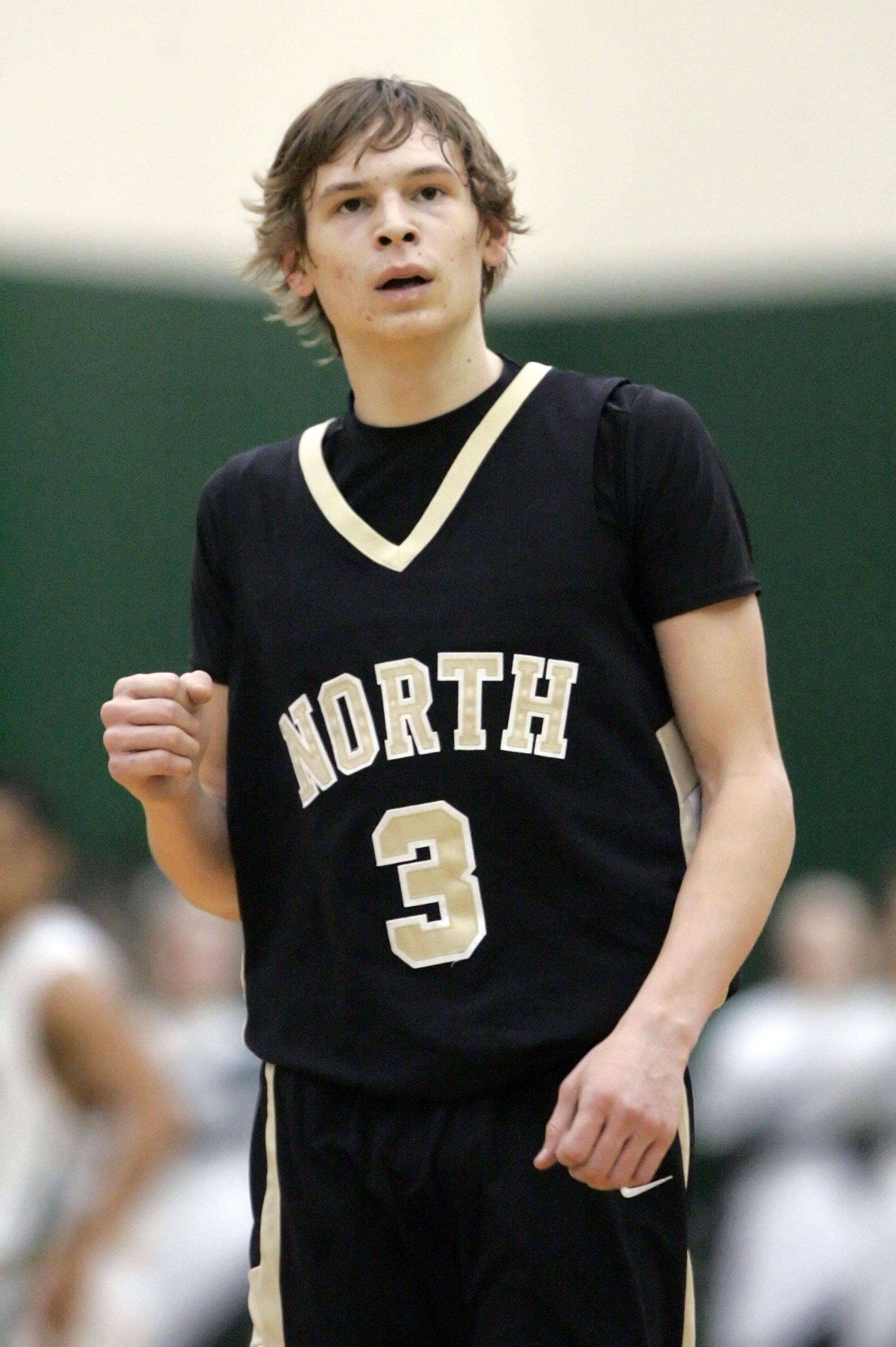 Images from the Grayslake North at Grayslake Central boys basketball game Tuesday, January 11.
