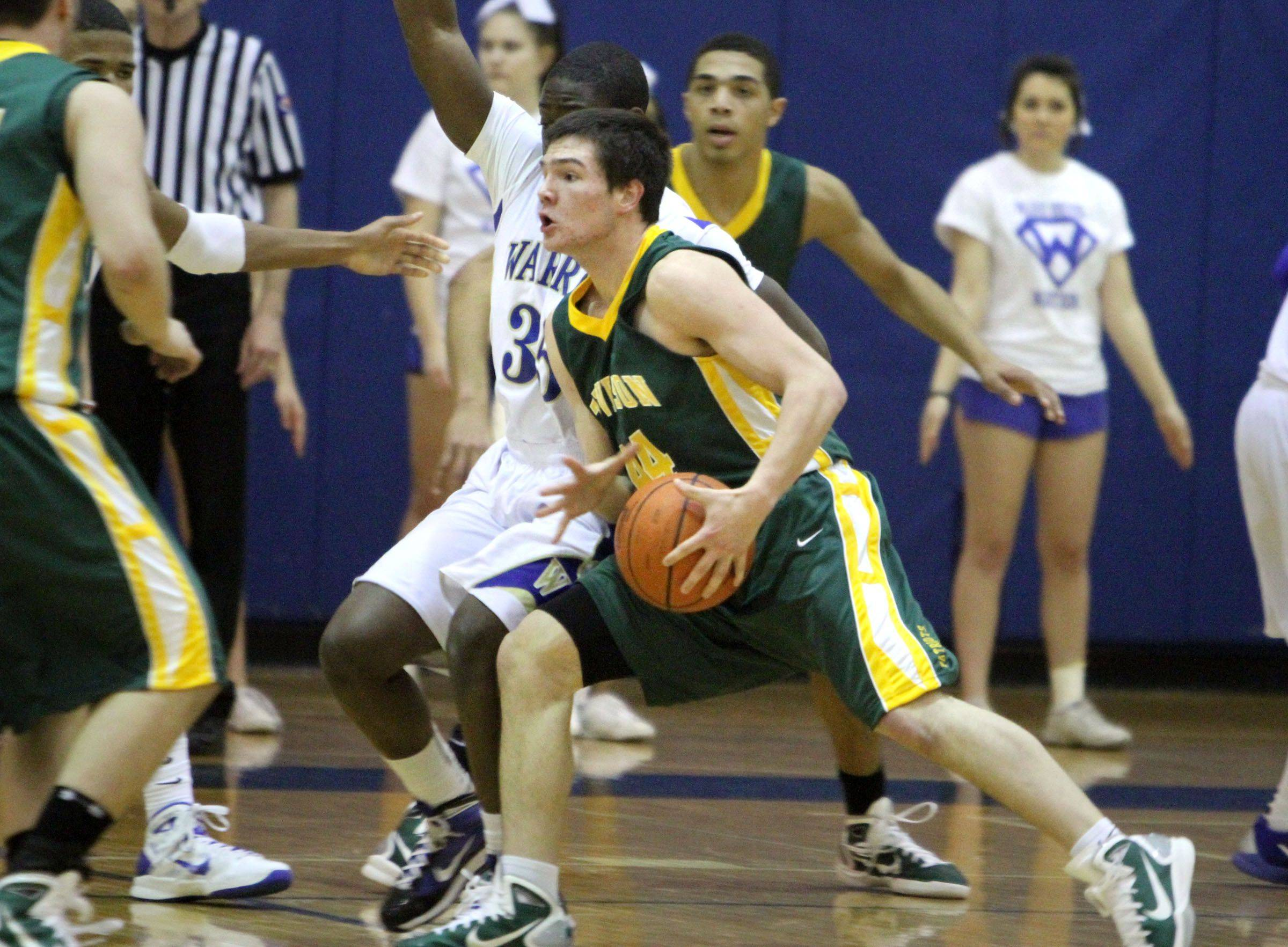 Images from the Stevenson at Warren boys basketball game Friday, January 14.