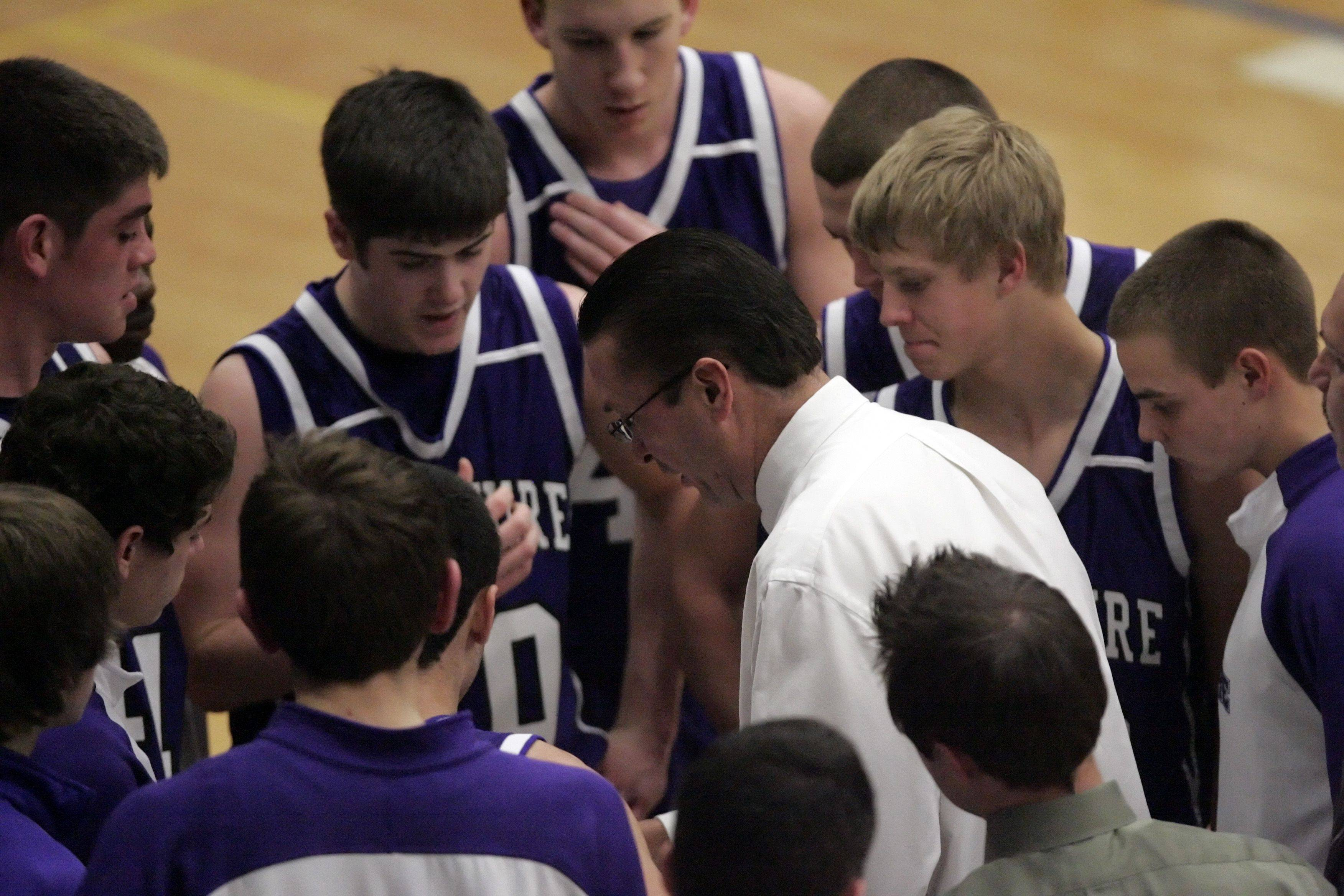 Images from Hampshire at Burlington Central boys basketball game Saturday, January 15, 2011.