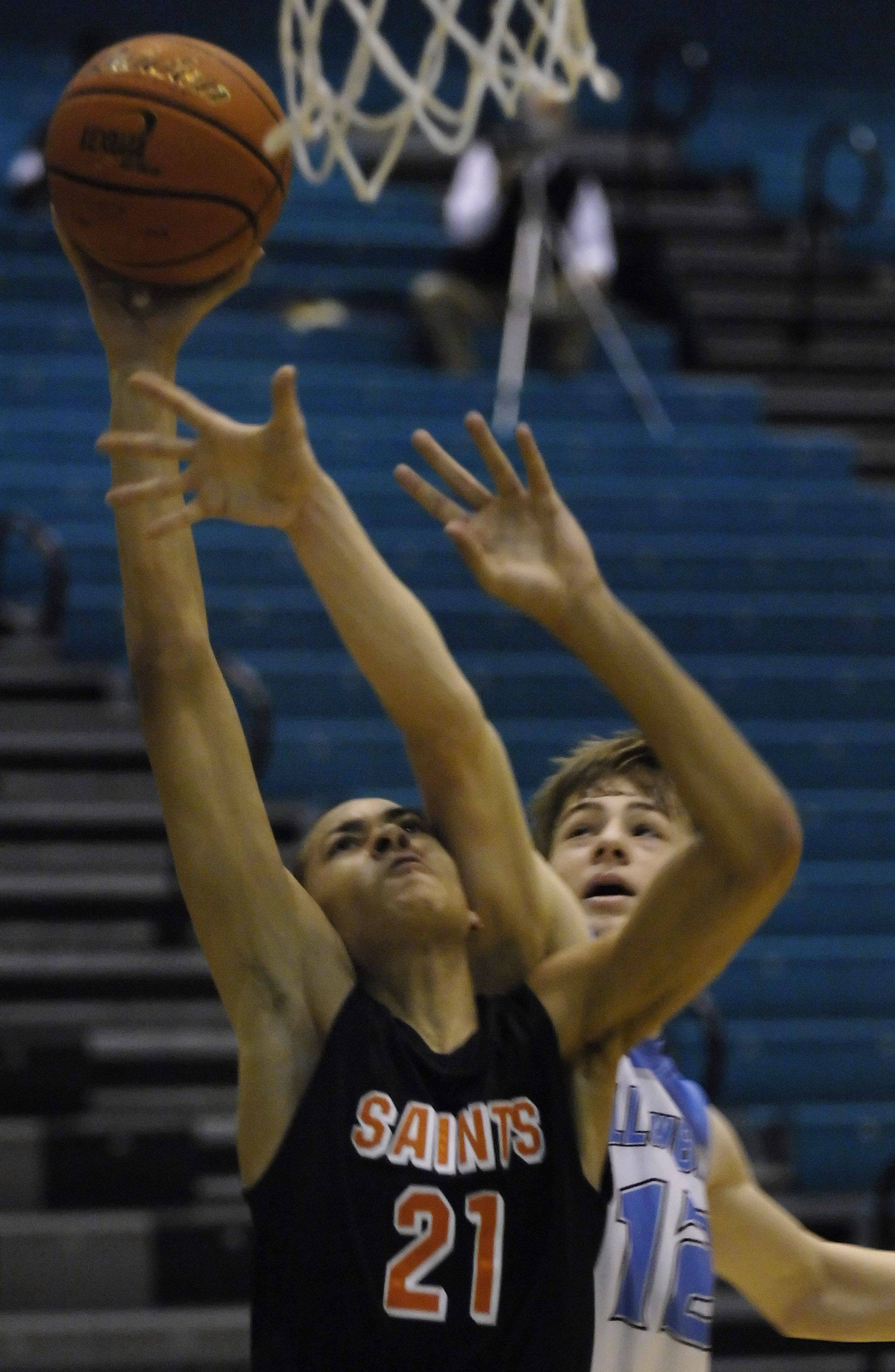 Images: St. Charles East vs. Willowbrook boys basketball