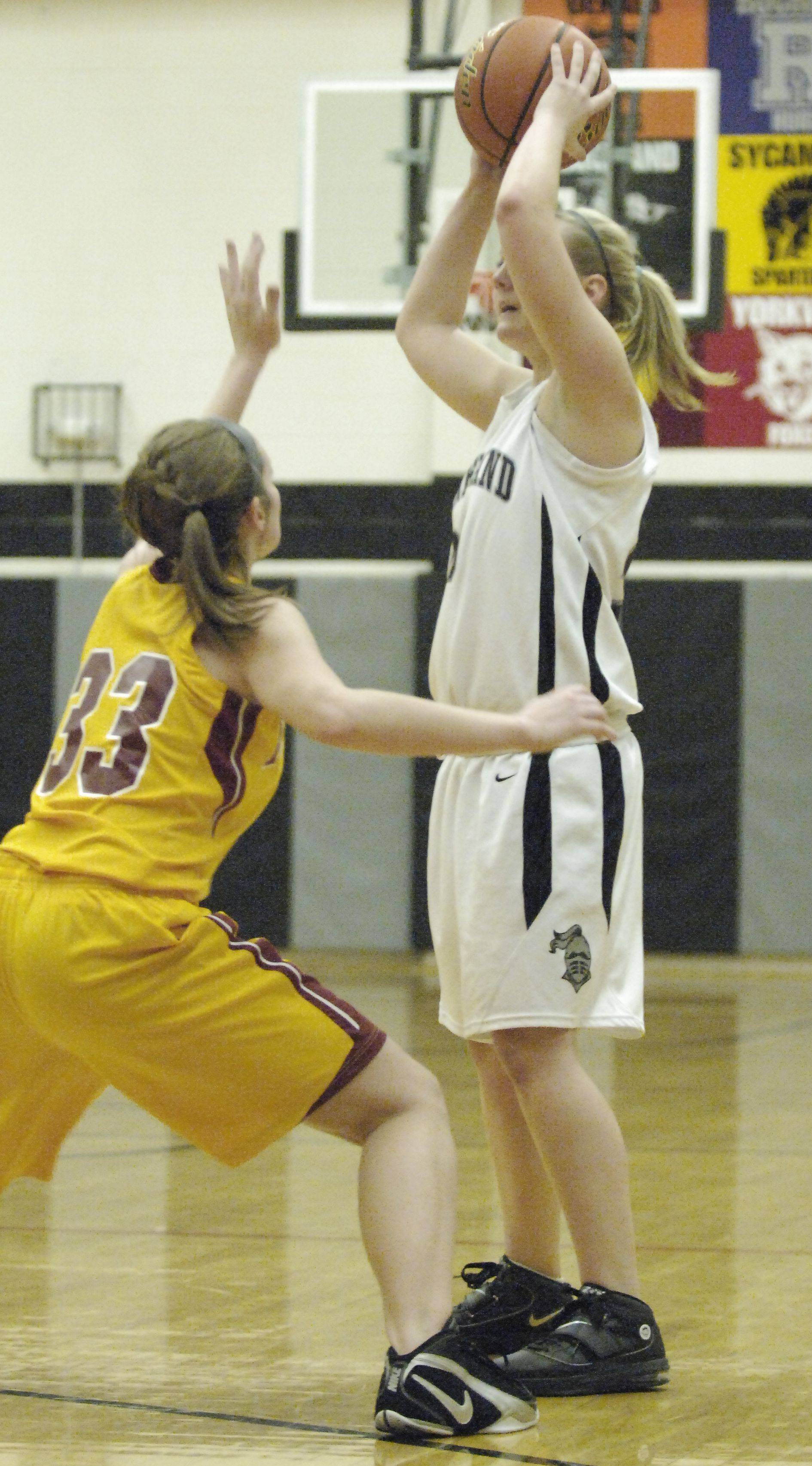 Images from the Morris vs. Kaneland girls basketball game Tuesday, January 18, 2011.