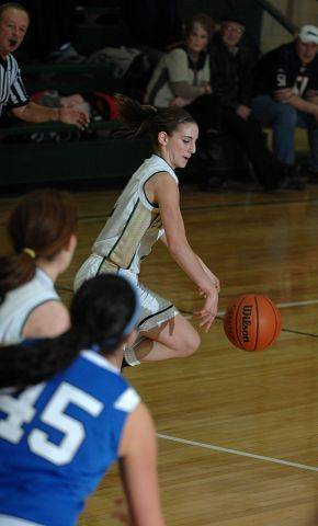 Images from the Wheaton St. Francis vs. Elgin St. Edward girls basketball game Friday, January 21, 2011.
