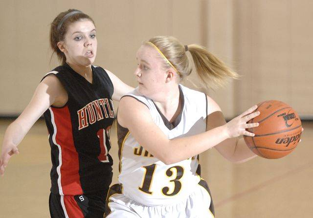 Images from the Huntley vs. Jacobs girls basketball game Wednesday, January 26, 2011.