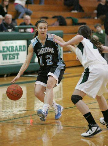 Girls basketball. Willowbrook at Glenbard West.