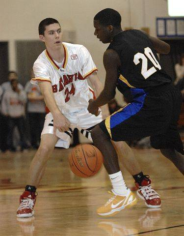 Images from the Batavia vs. Simeon boys basketball game Saturday, February 5, 2011.