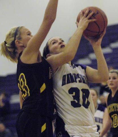 Images: Richmond-Burton vs. Hampshire girls basketball