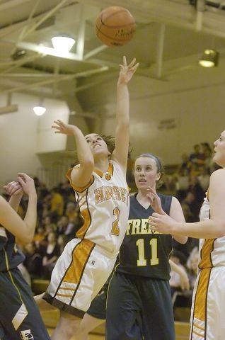 Images from the Fremd vs. Hersey Mid-Suburban League girls basketball championship game Arlington Heights on Wednesday, February 9th.