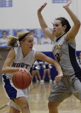 Images from the Neuqua Valley vs. St. Charles North girls basketball game Wednesday, February 9, 2011.