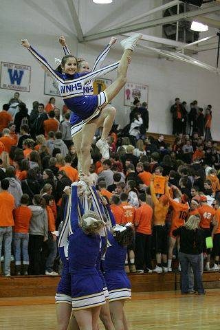 Boys basketball. Wheaton North at Wheaton Warrenville South.