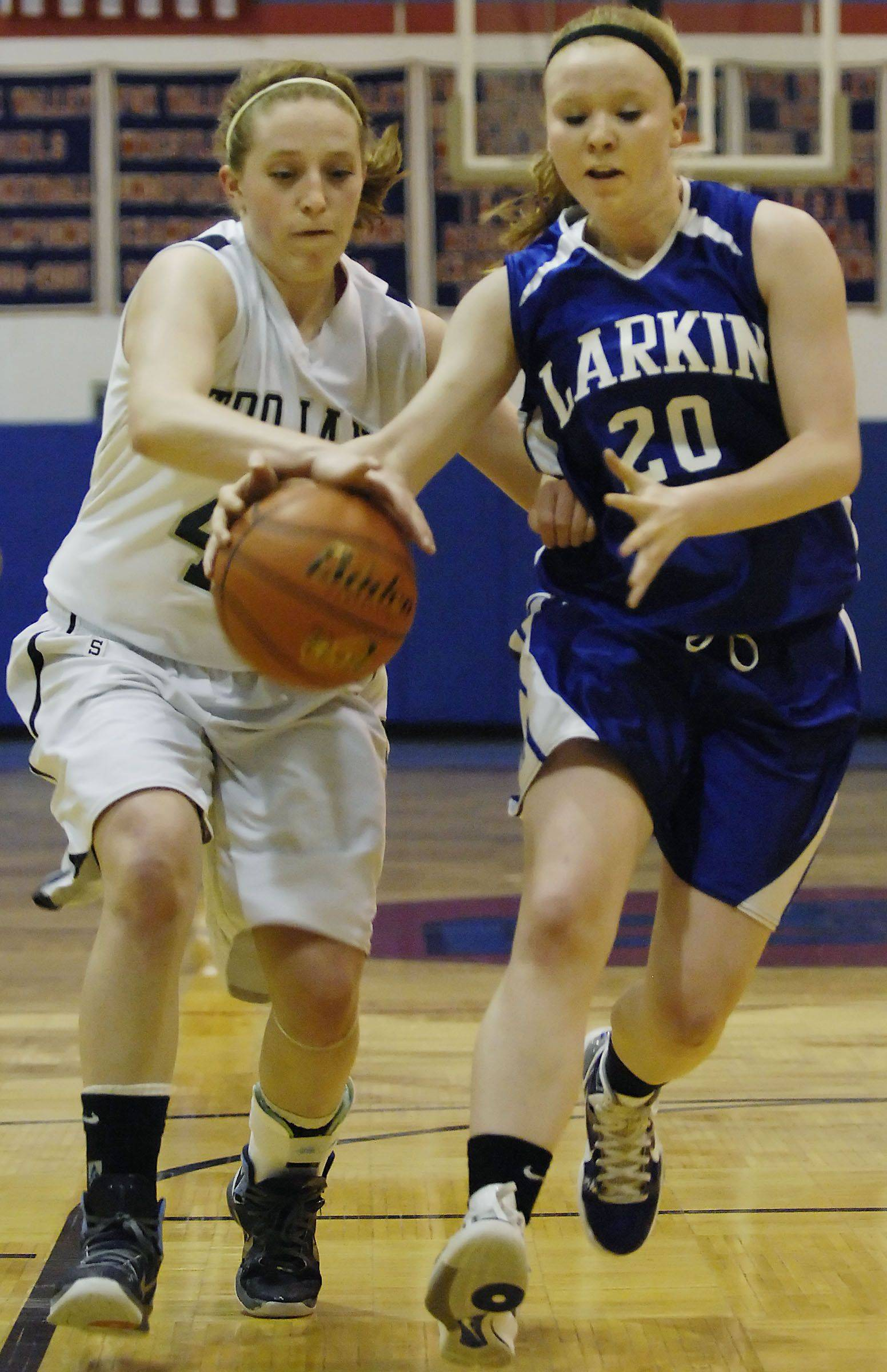 Images: Cary-Grove vs. Larkin girls basketball